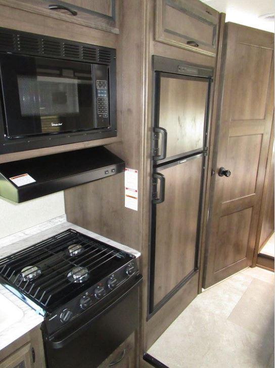 Kitchen area. Coachmen Freelander 2018