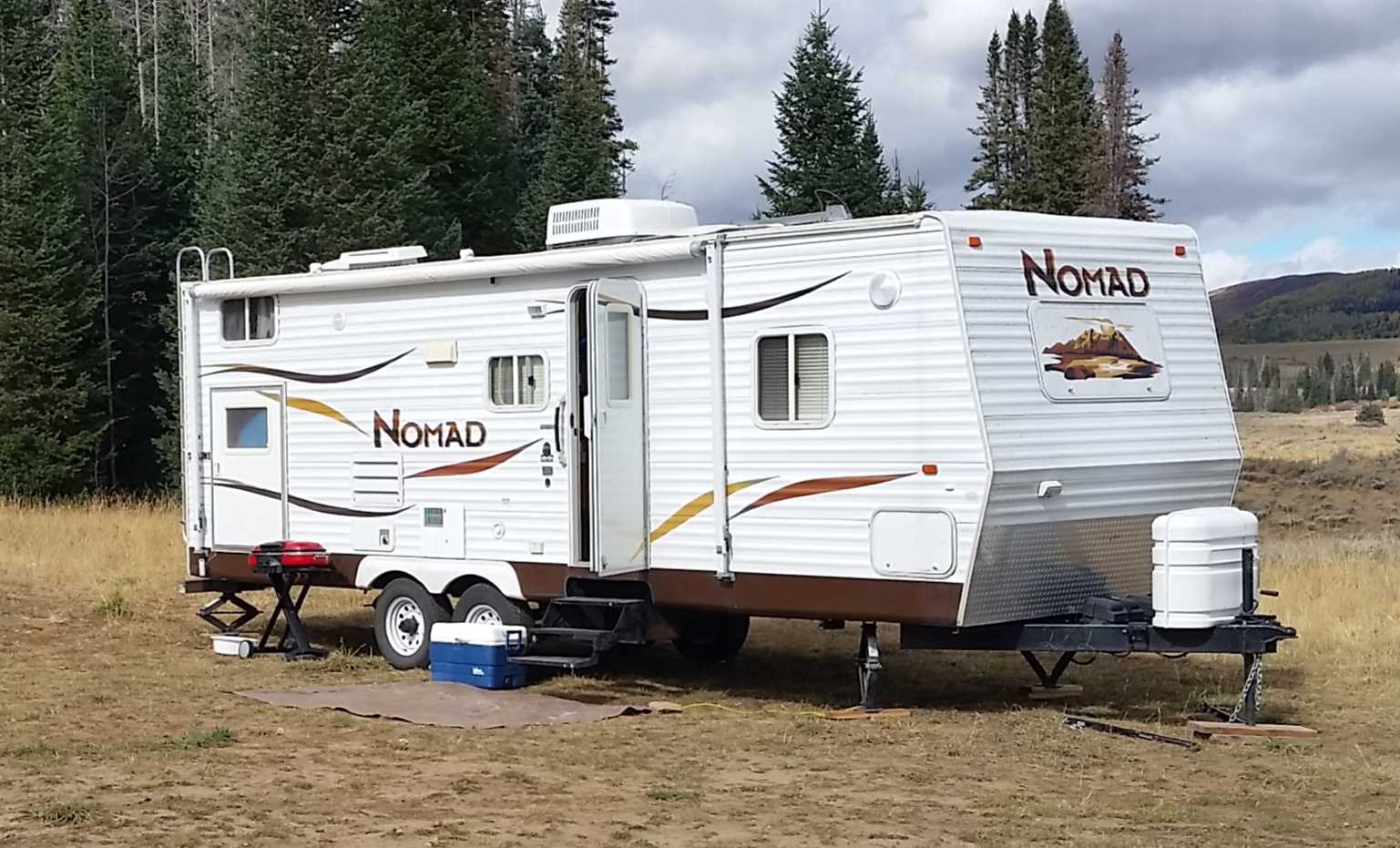 I Love camping in the mountains!. Skyline Nomad 2006
