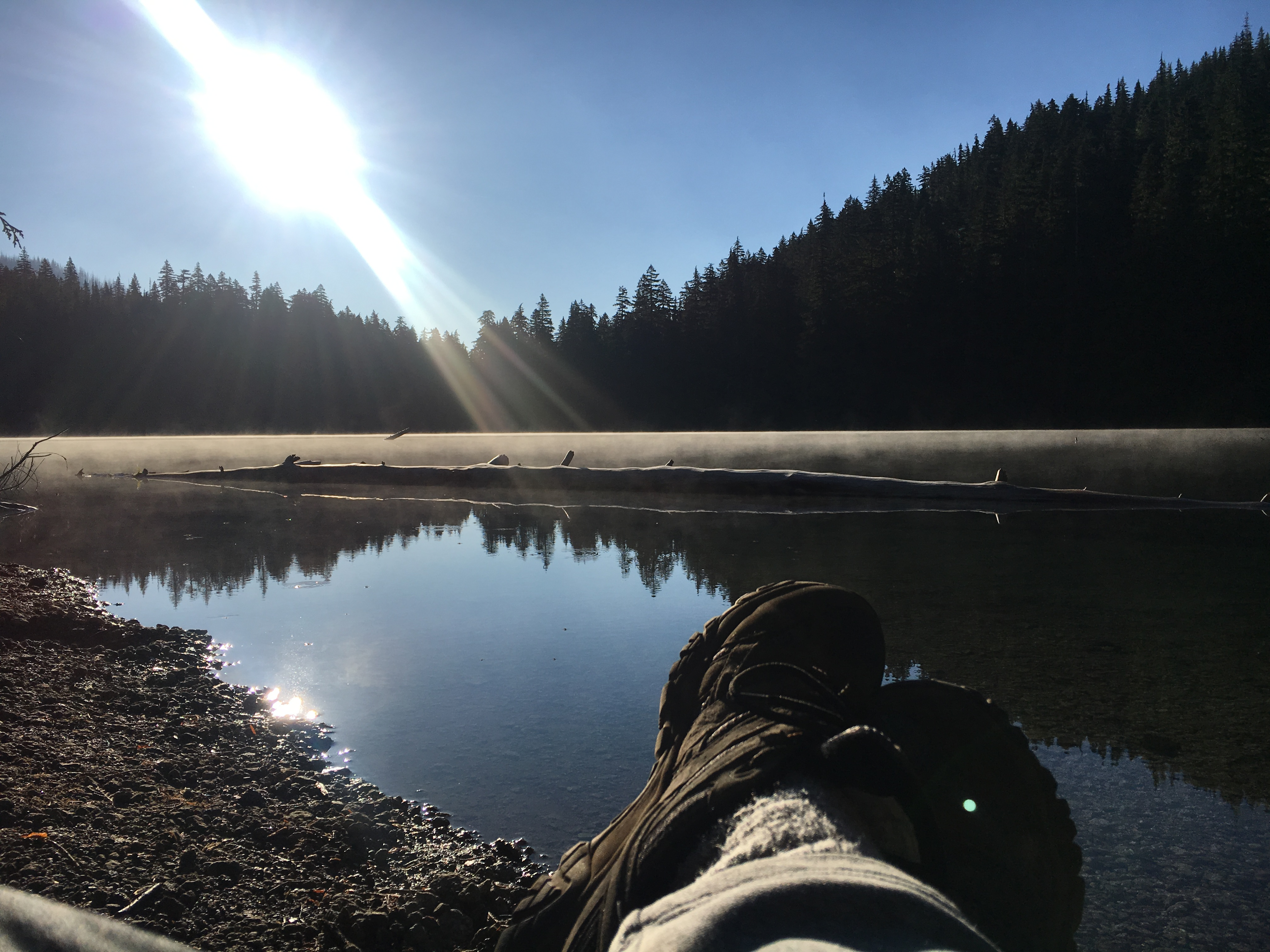 Why not be where you want to be? Step out of the front door and take a quick walk to the lake for morning coffee. It's good for the soul!. Forest River Evo 2016