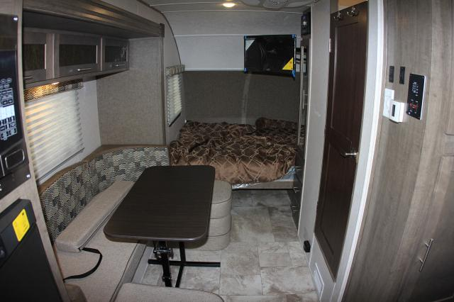 Great tiny house living. Dining table folds to convert to a bed. . Forest River R-Pod 179 2018