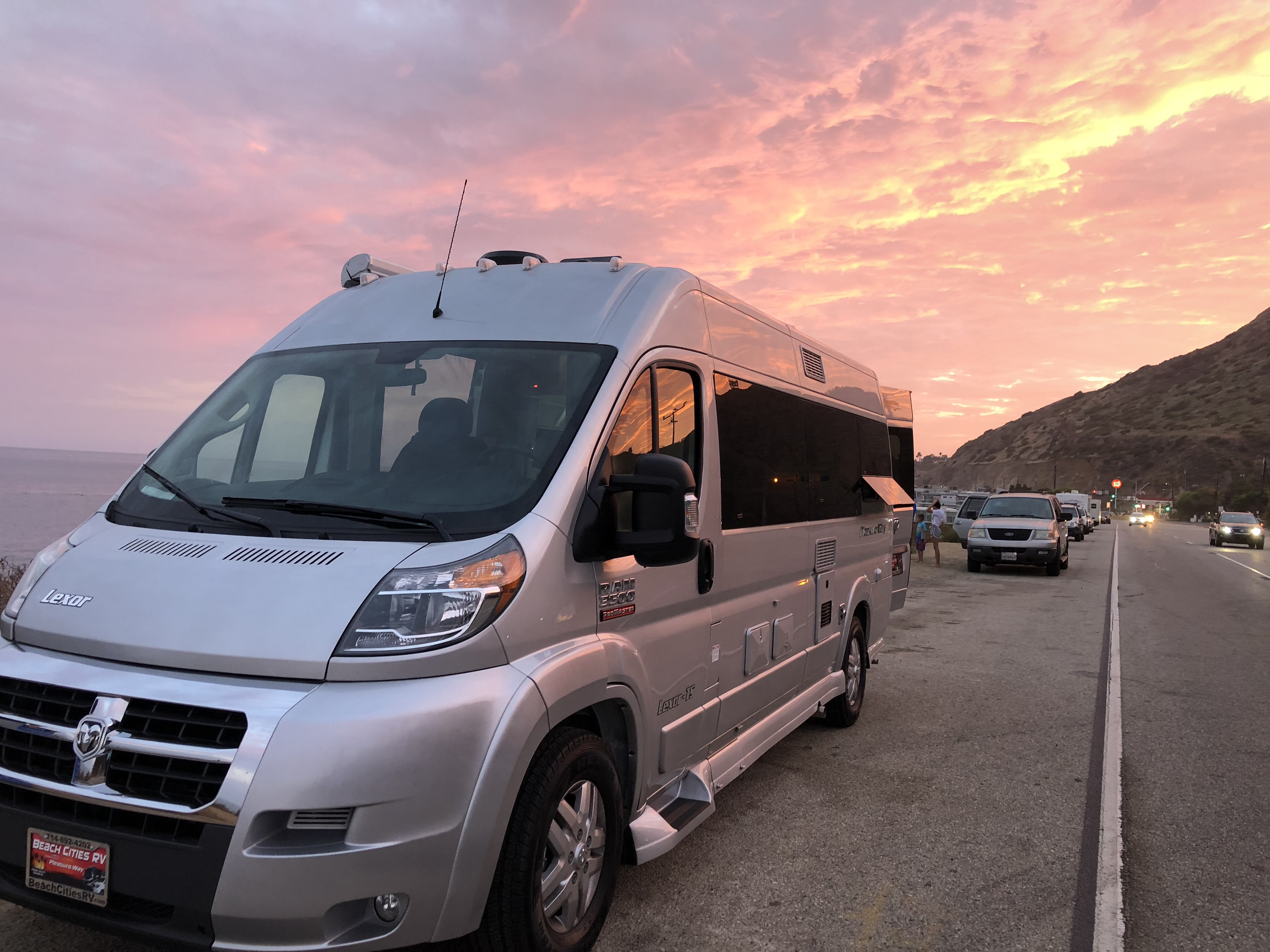 This was our first night hanging out on PCH. So fun!. Pleasure Way Lexor TS 2018