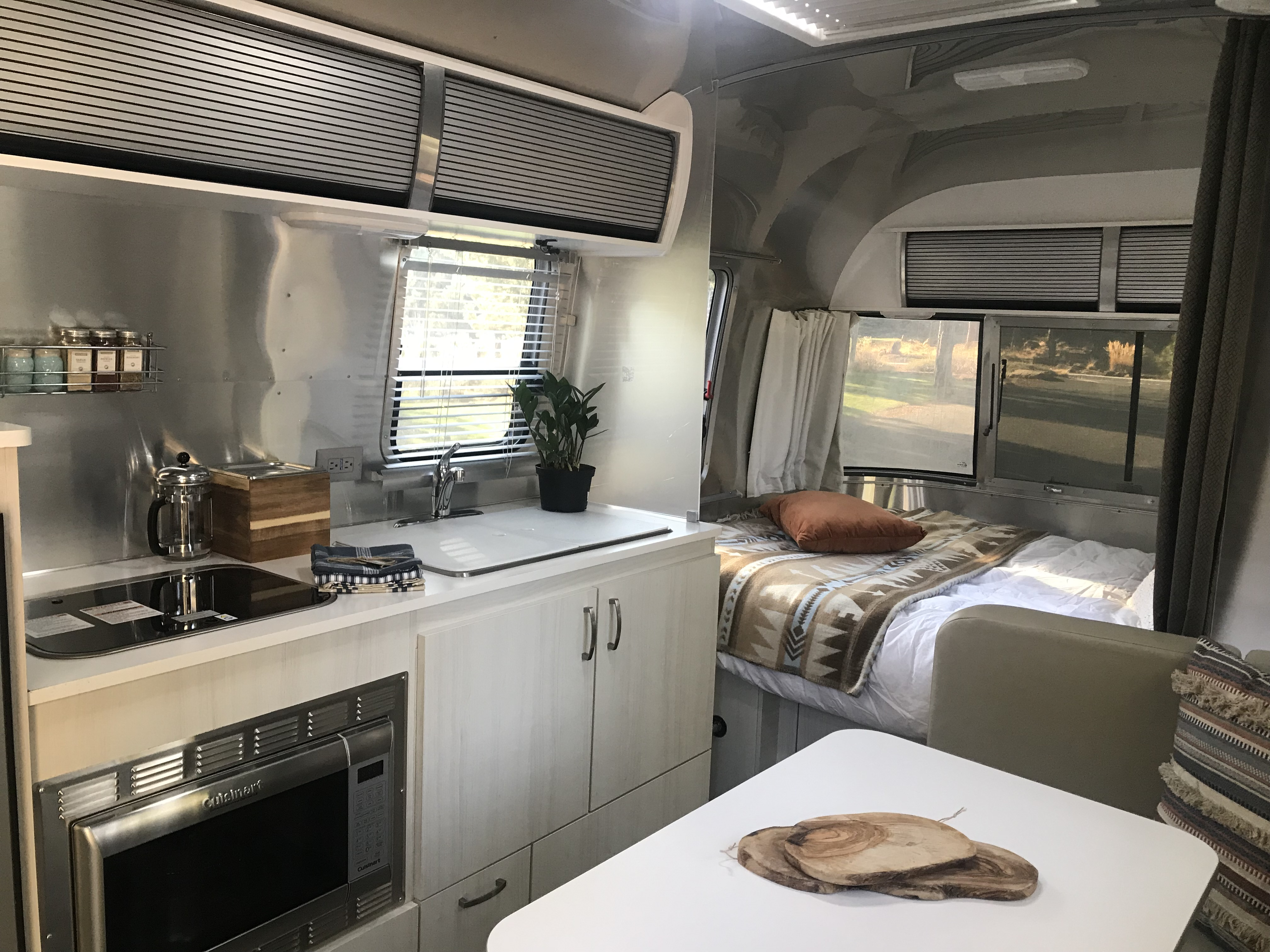 Comfortable and cozy Memory Foam mattress. Airstream Sport 2017