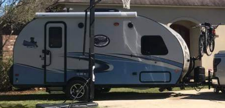 Ready to pull out for a camping trip. Bike rack shown in photo. . Forest River R-Pod 179 2018