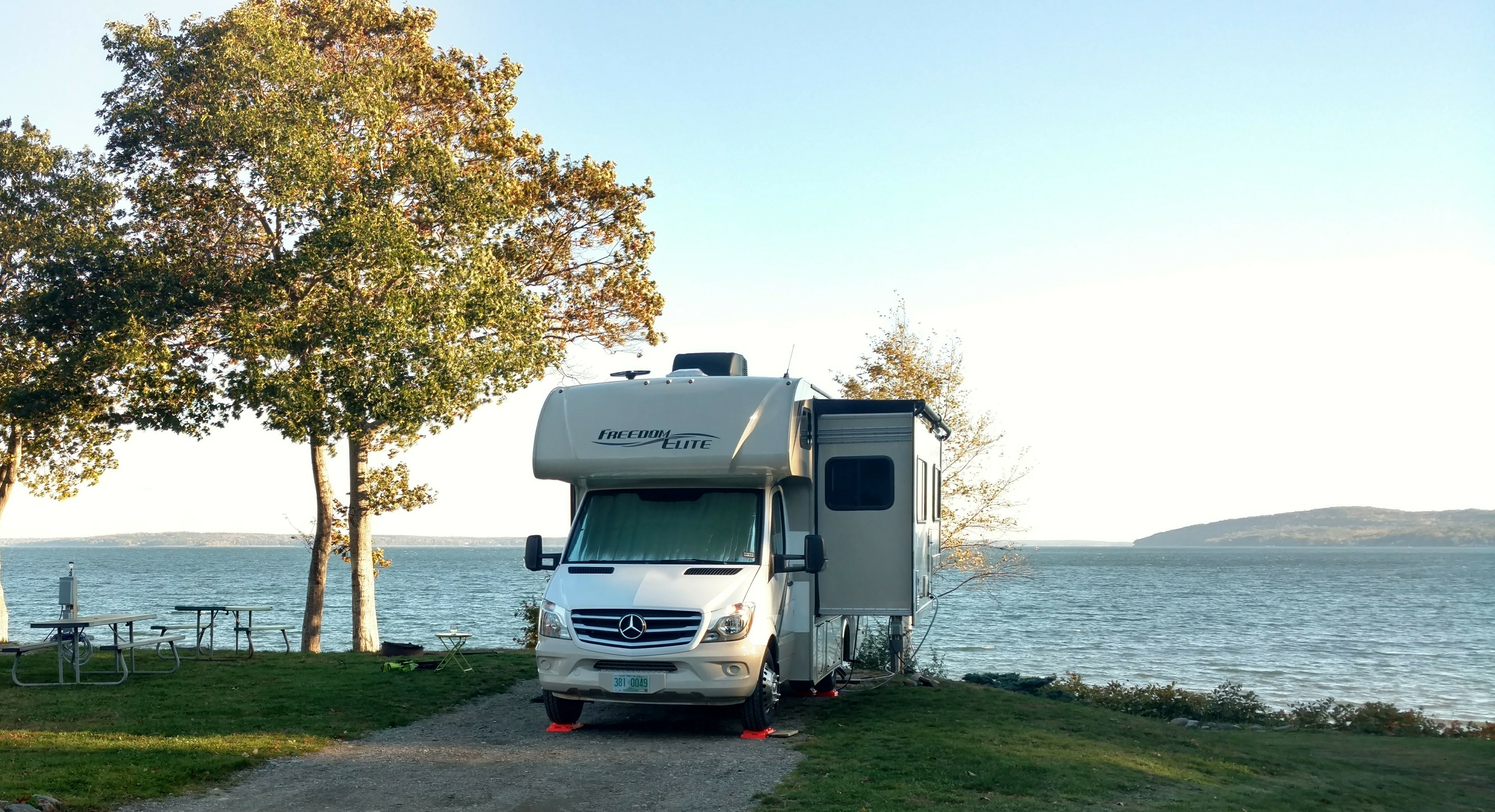 Moorings - Belfast Maine. Thor Motor Coach Freedom Elite 2019