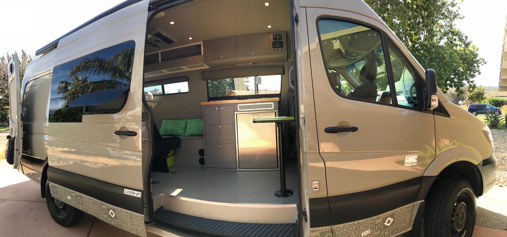Mercedes-Benz Sprinter RV Motorhome Campervan 2018