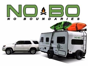 Video to show you the NOBO Xpress in action!. Forest River NOBO 16.8 Easy to tow Trailer 2019