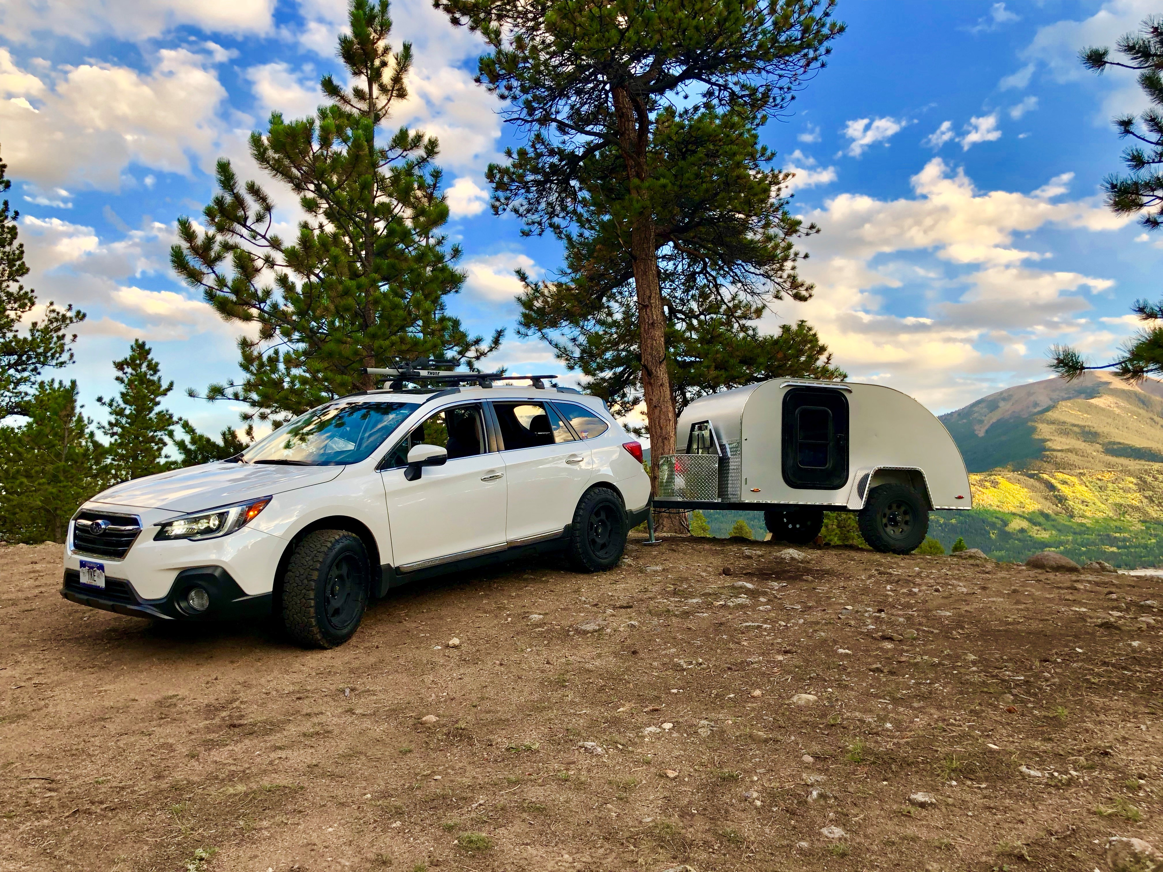 The Canyonland Teardrop is capable of going off-road and off-grid, taking you on new adventures in Colorado's Rocky Mountains! . Colorado Teardrops Canyonland 2018
