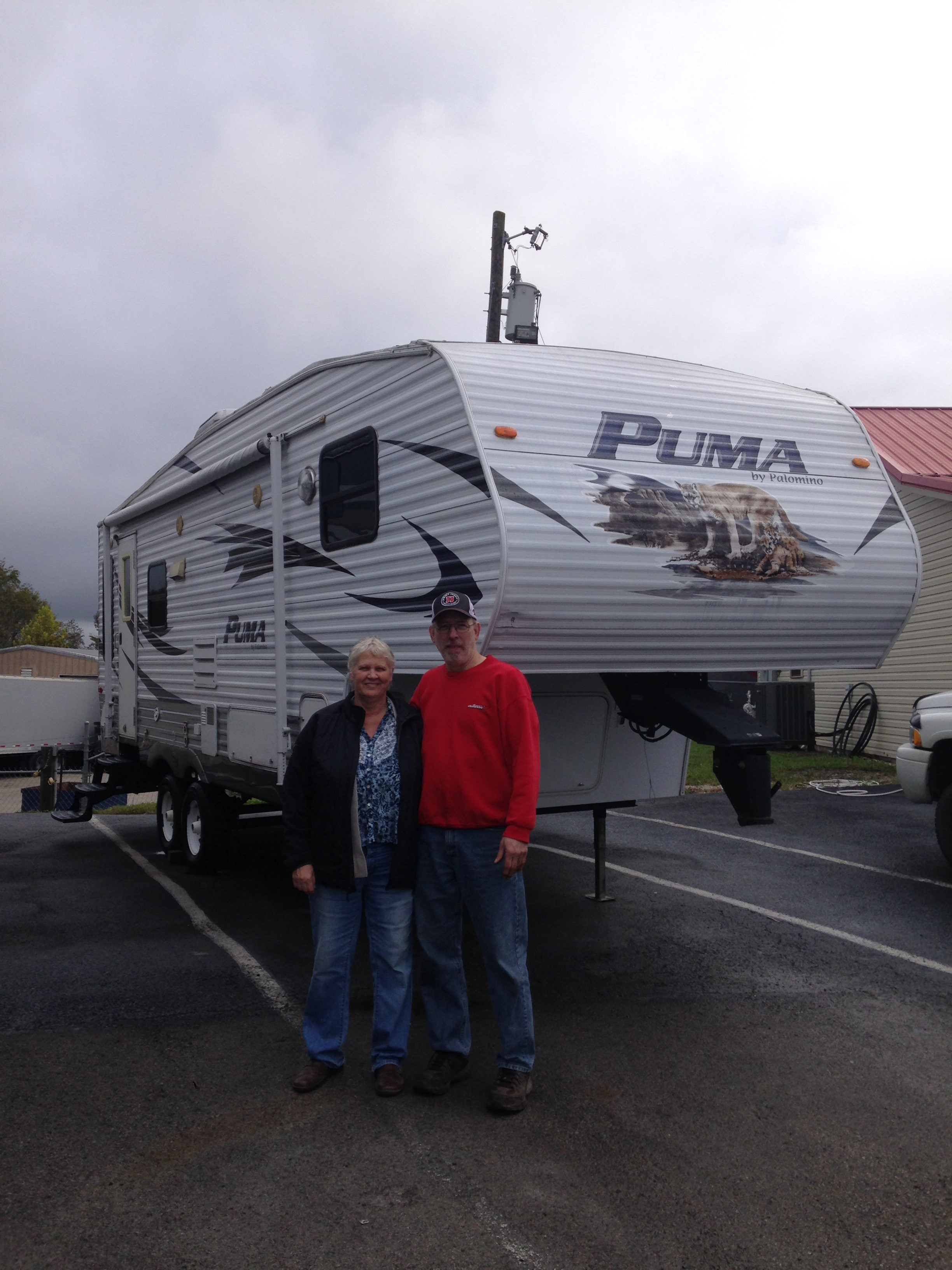 Micah and Mary Anns Home away from Home. Palomino Puma 2010
