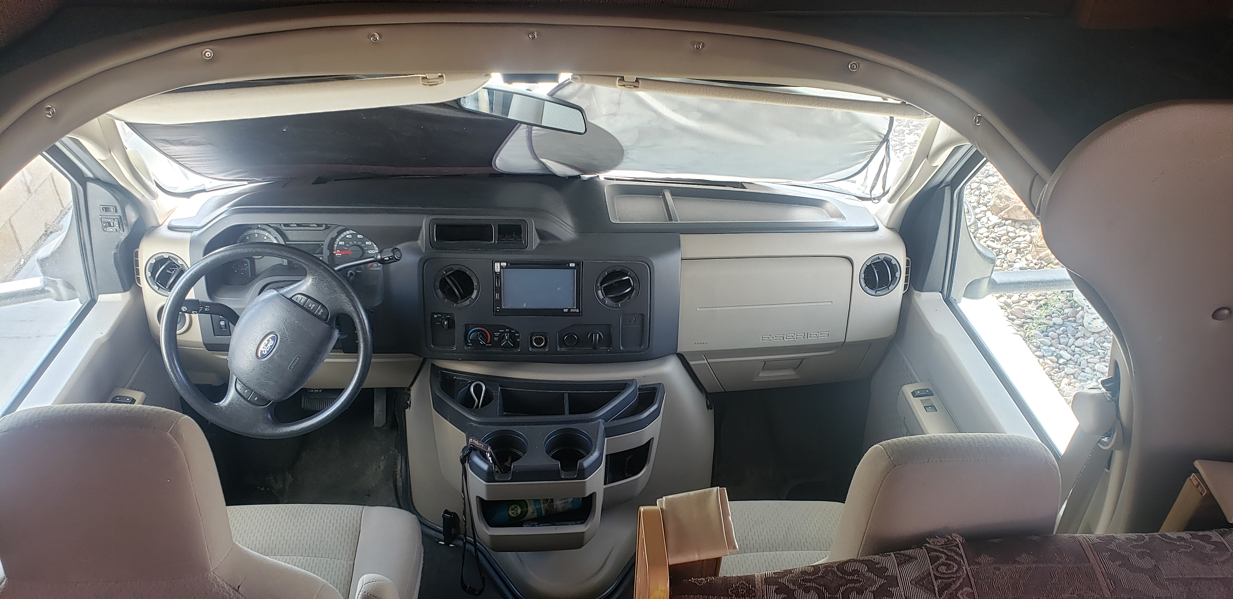 Comfortable seating. . Ford E450 2012