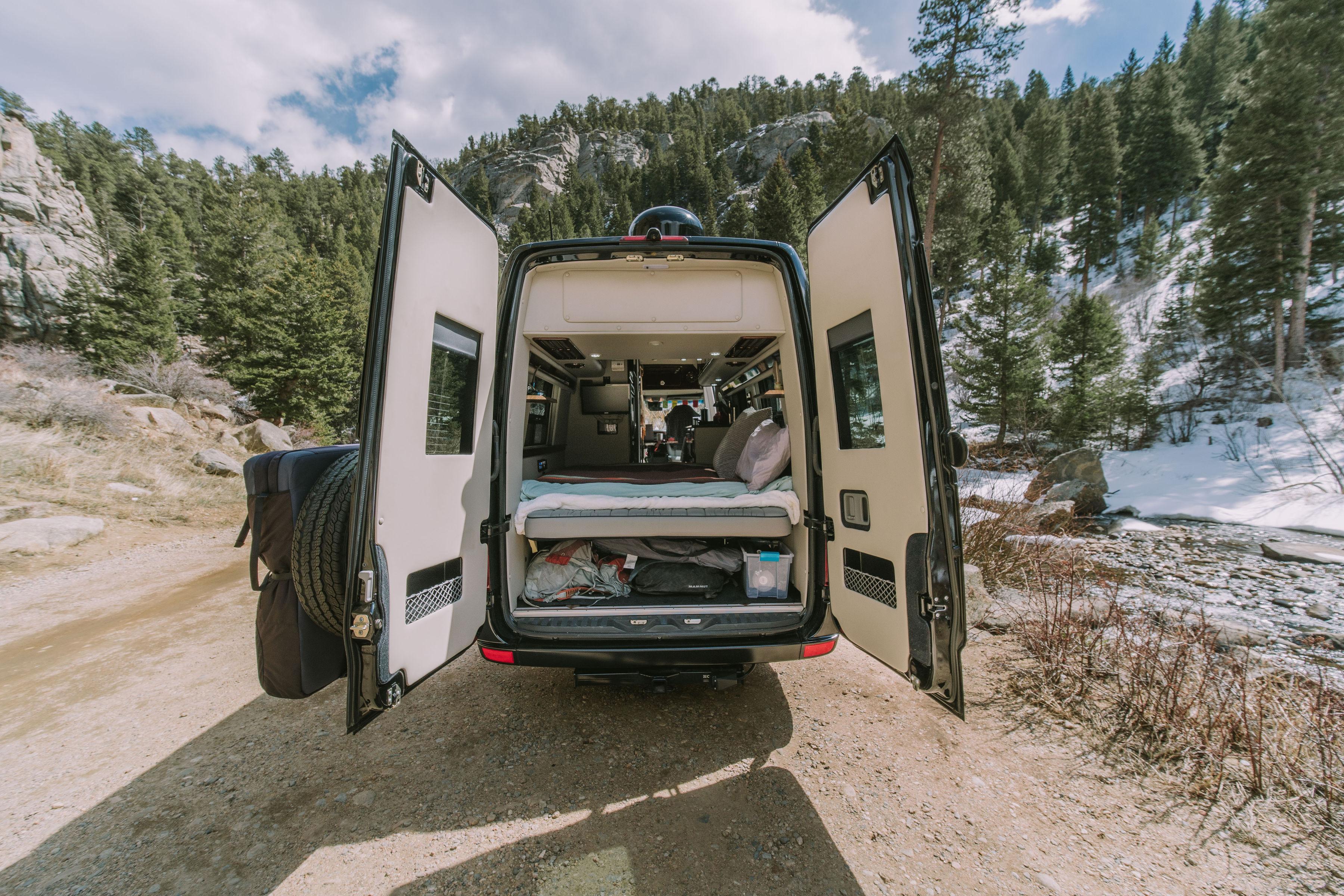 Boulder Campervans offers premium campervan rentals. . Mercedes Camper Van 2017