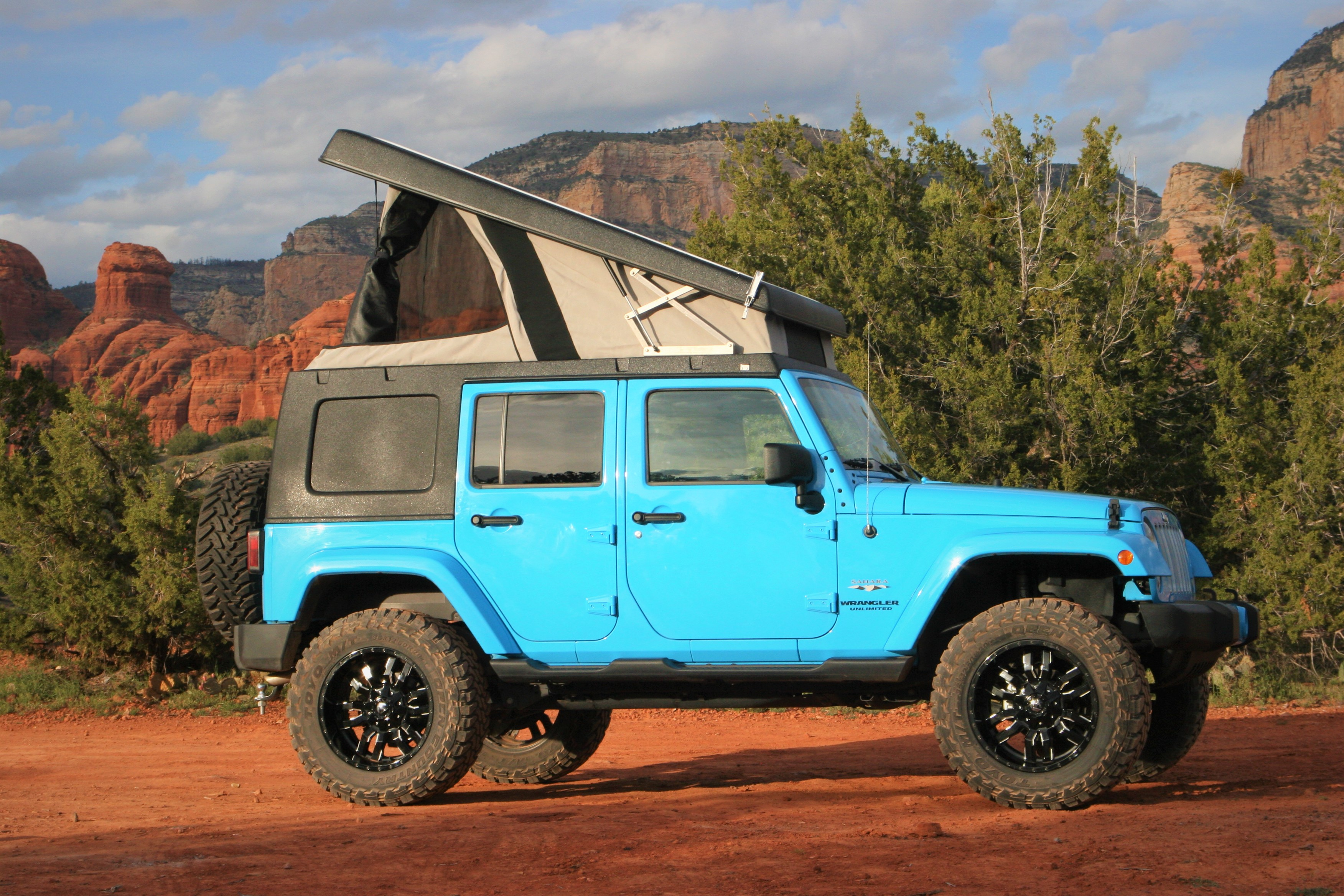 Your adventure awaits!. Jeep Wrangler Unlimited Sahara 2017