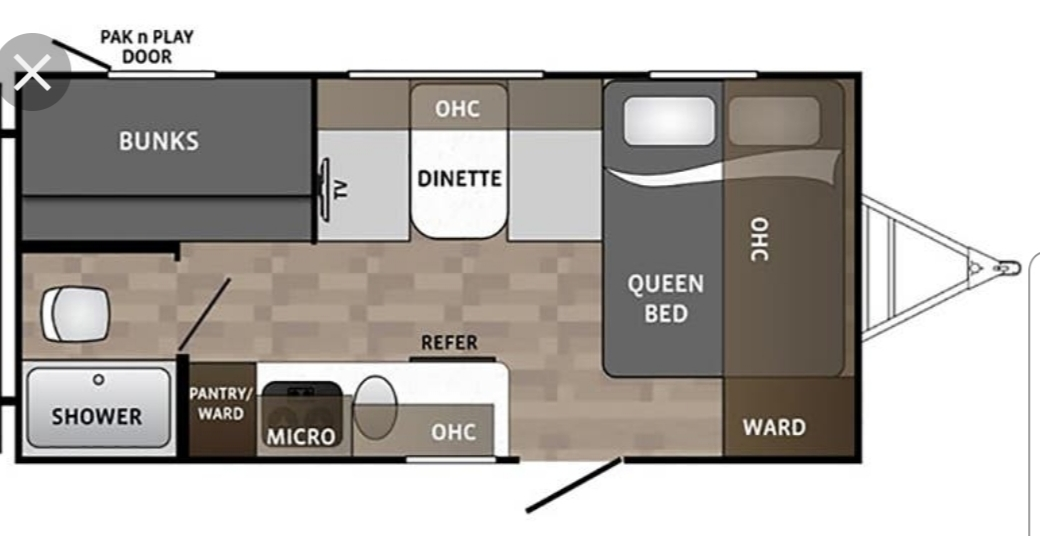 Here is a layout of exactly how the campers interior looks!. Dutchmen Kodiak 2019