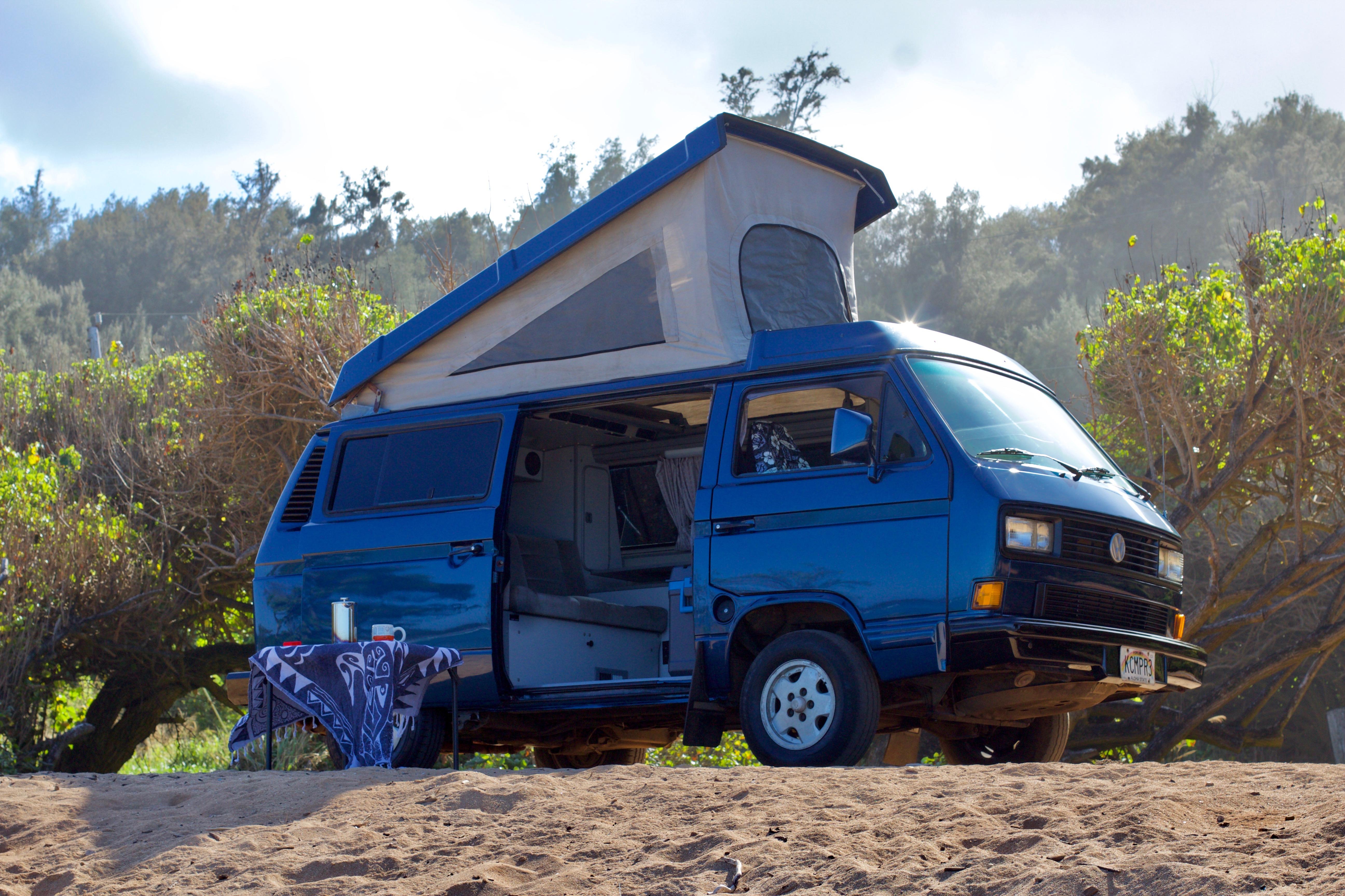 1990 Volkswagen Vanagon Westfalia Camper Van Rental In Kapaʻa Hi Outdoorsy