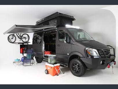 Camp Anywhere! . Mercedes-Benz 4x4 Sprinter mwb 2018