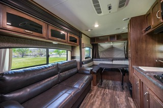 Comfortable main cabin. Jayco Jay Feather Ultra Lite 2017
