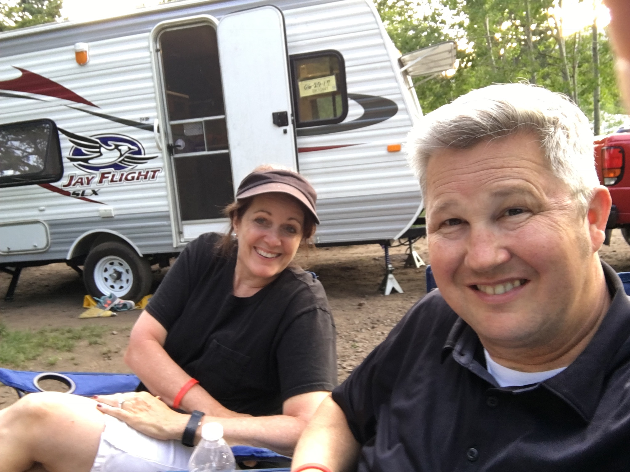 The Happy Camper is our Happy Place to make memories with family and friend!. Jayco Jay Flight 2015