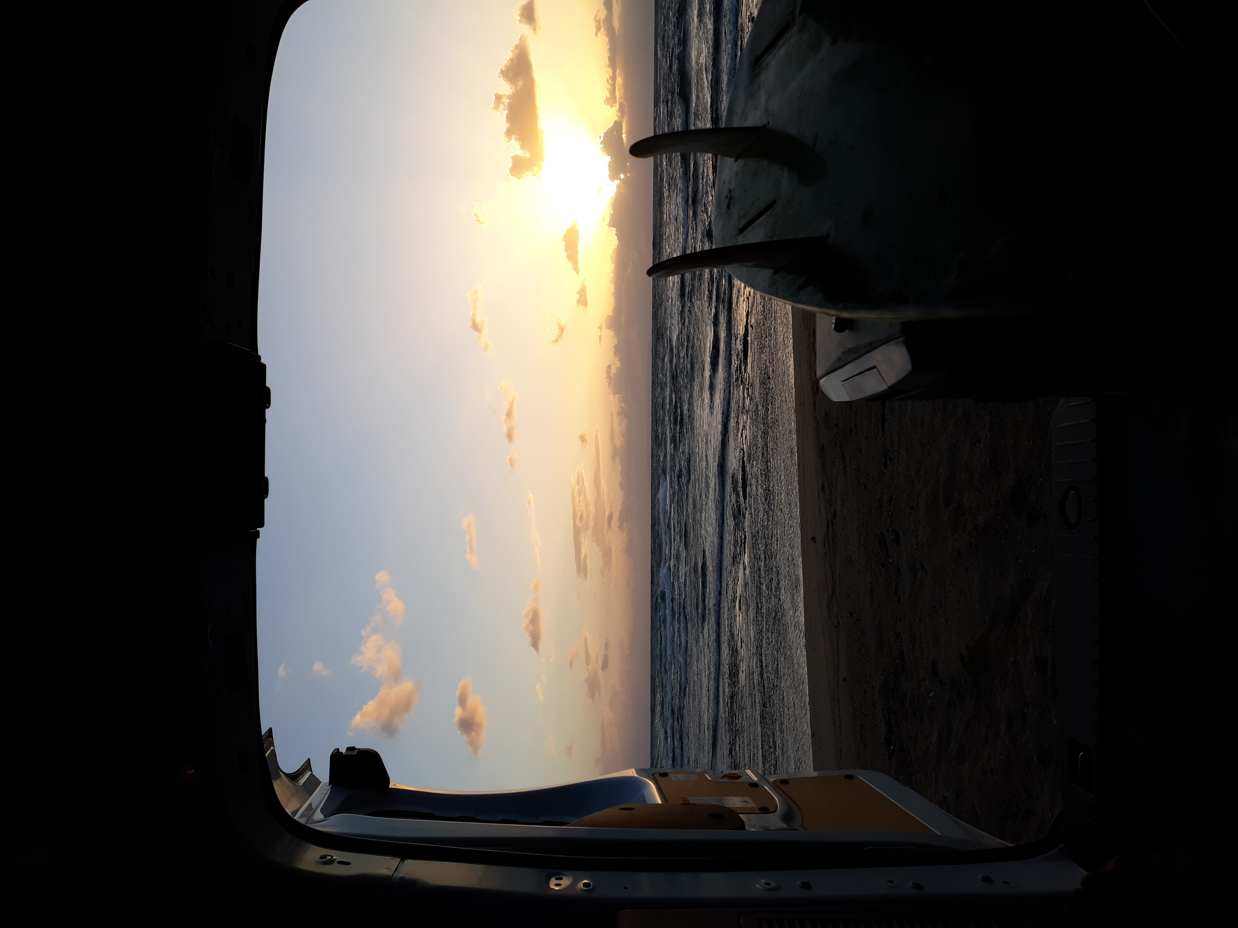 Set up and watch the sun set feet away from the ocean. Let me give advice on great spots to get away.. Ford Transit 2019