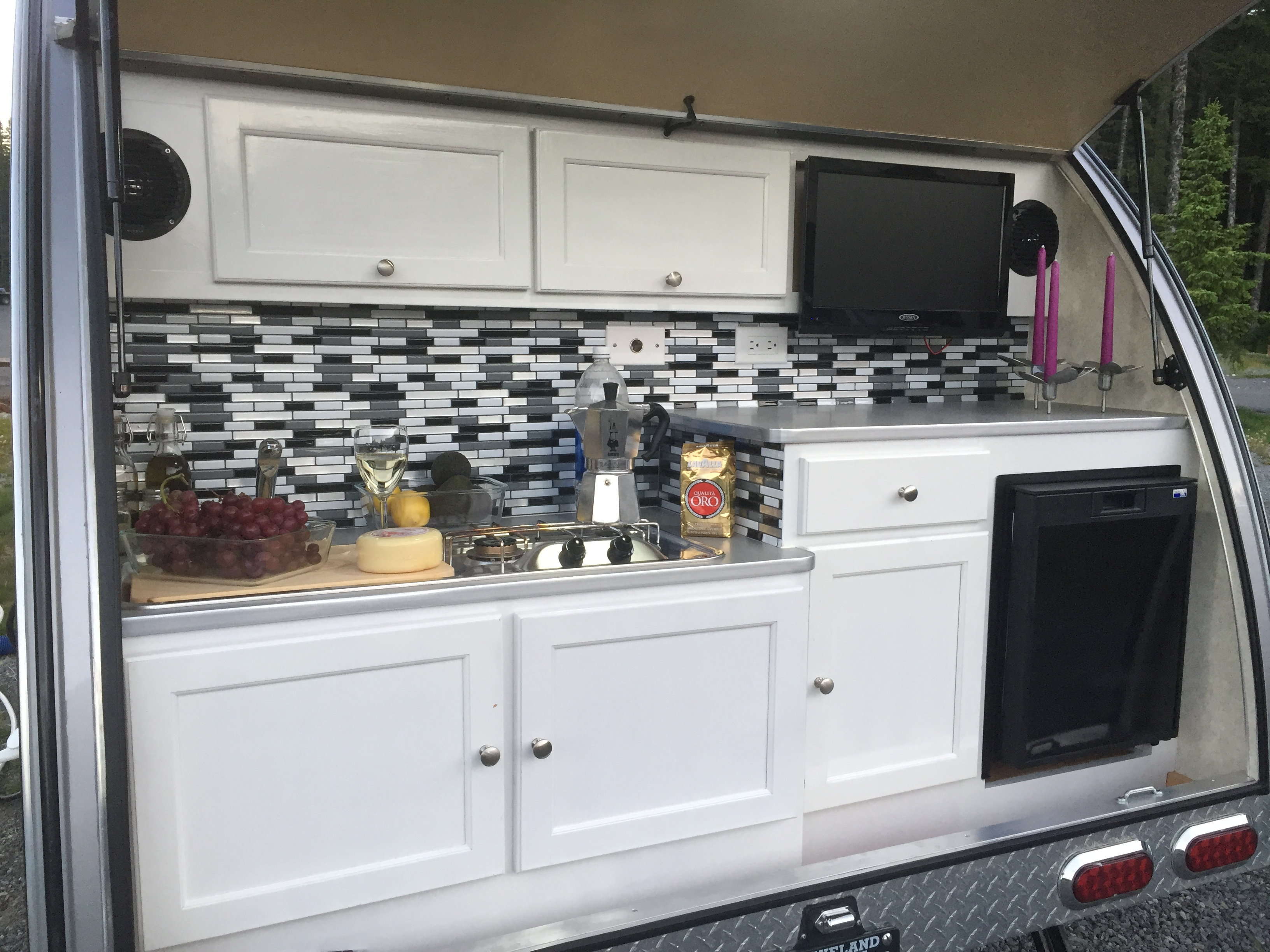 Kitchen. T@B 320 RS 2017