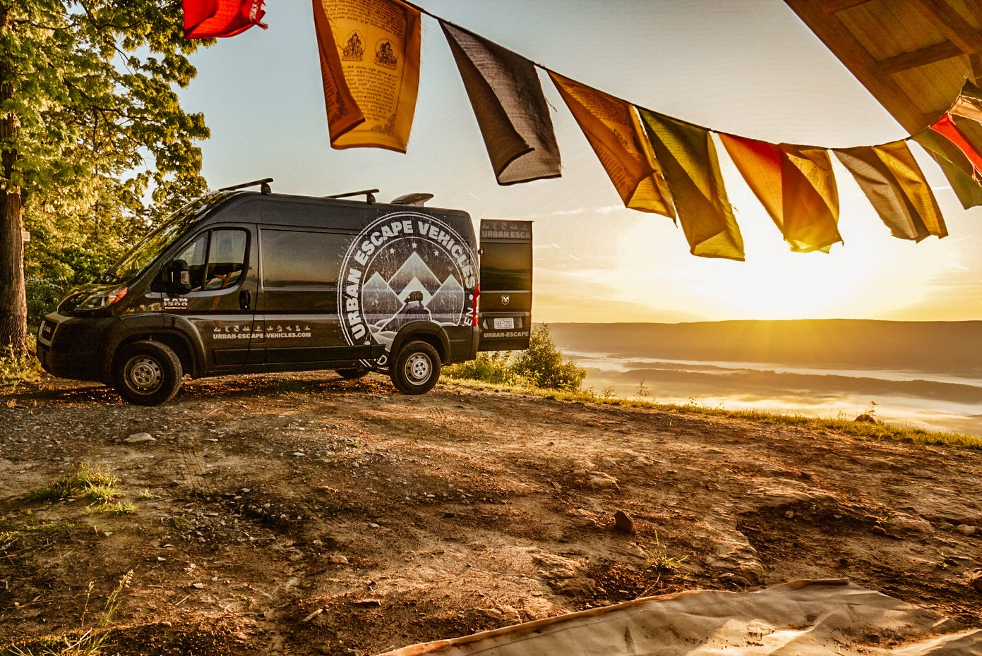 Stay where you play!. Ram Promaster Camper 2019