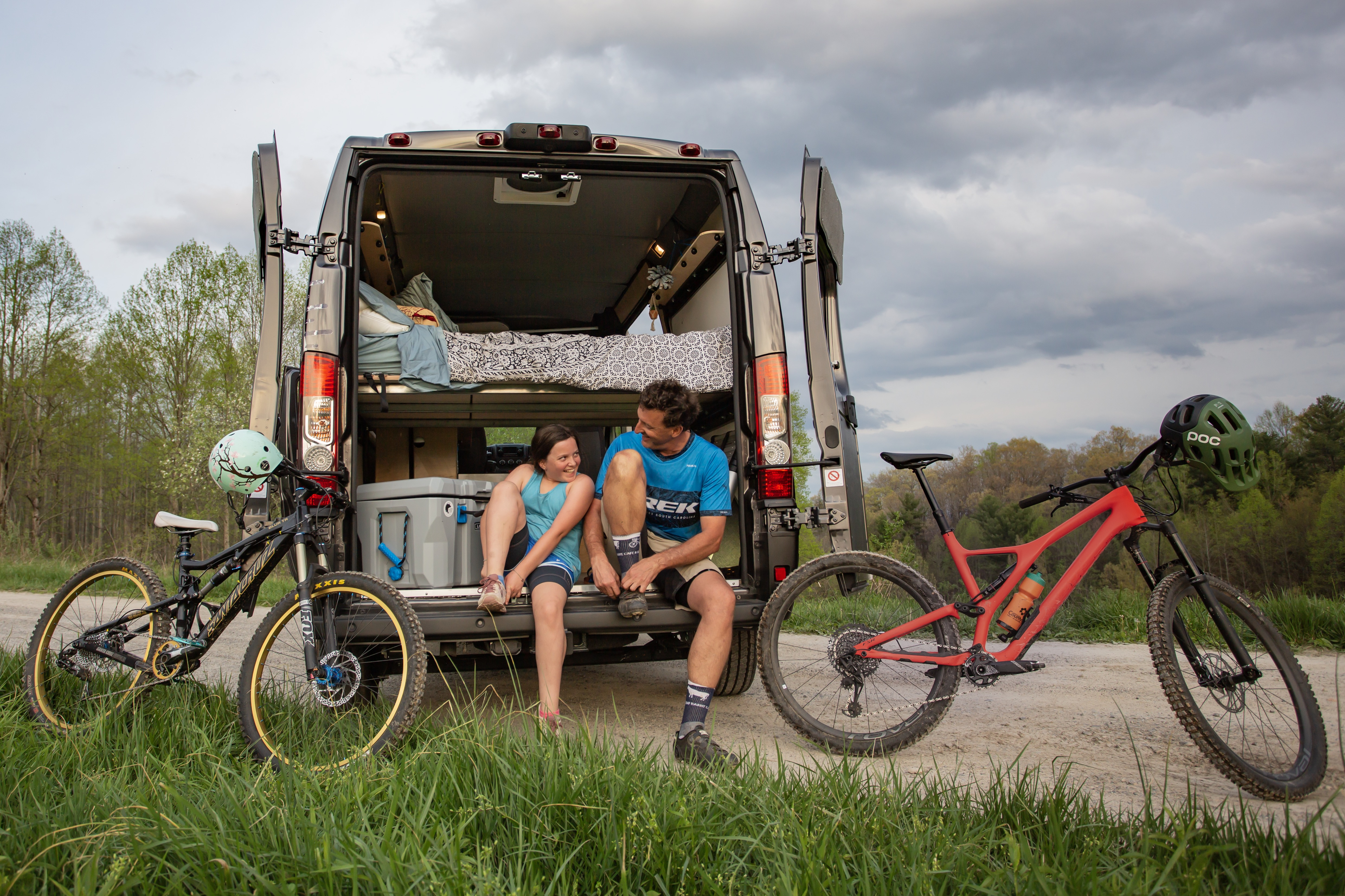 Plenty of cargo space for all of your toys.. Ram Promaster Camper 2019