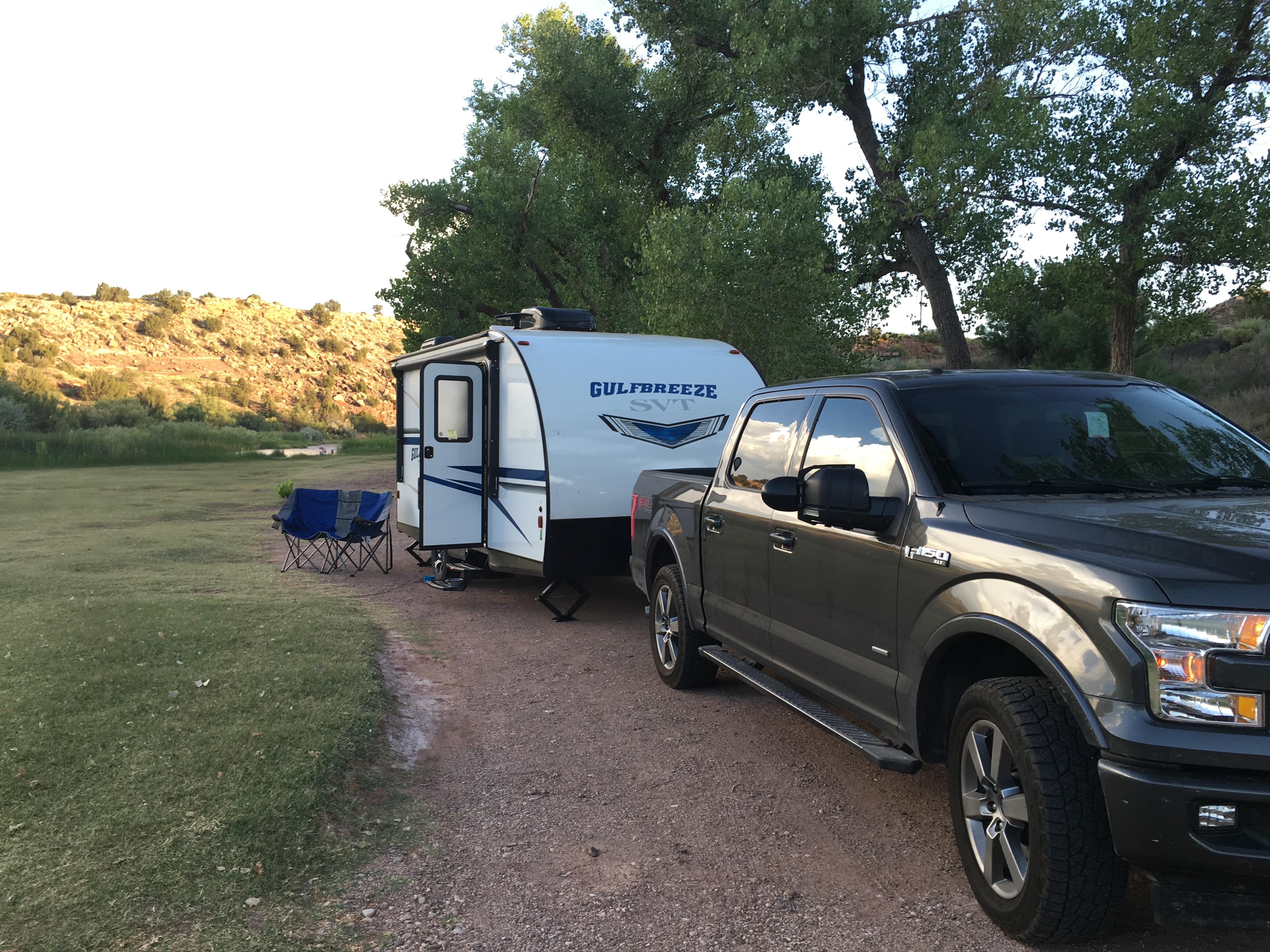 Our actual camper in the wild.. Gulf Stream Gulf Breeze Ultra Lite 2018