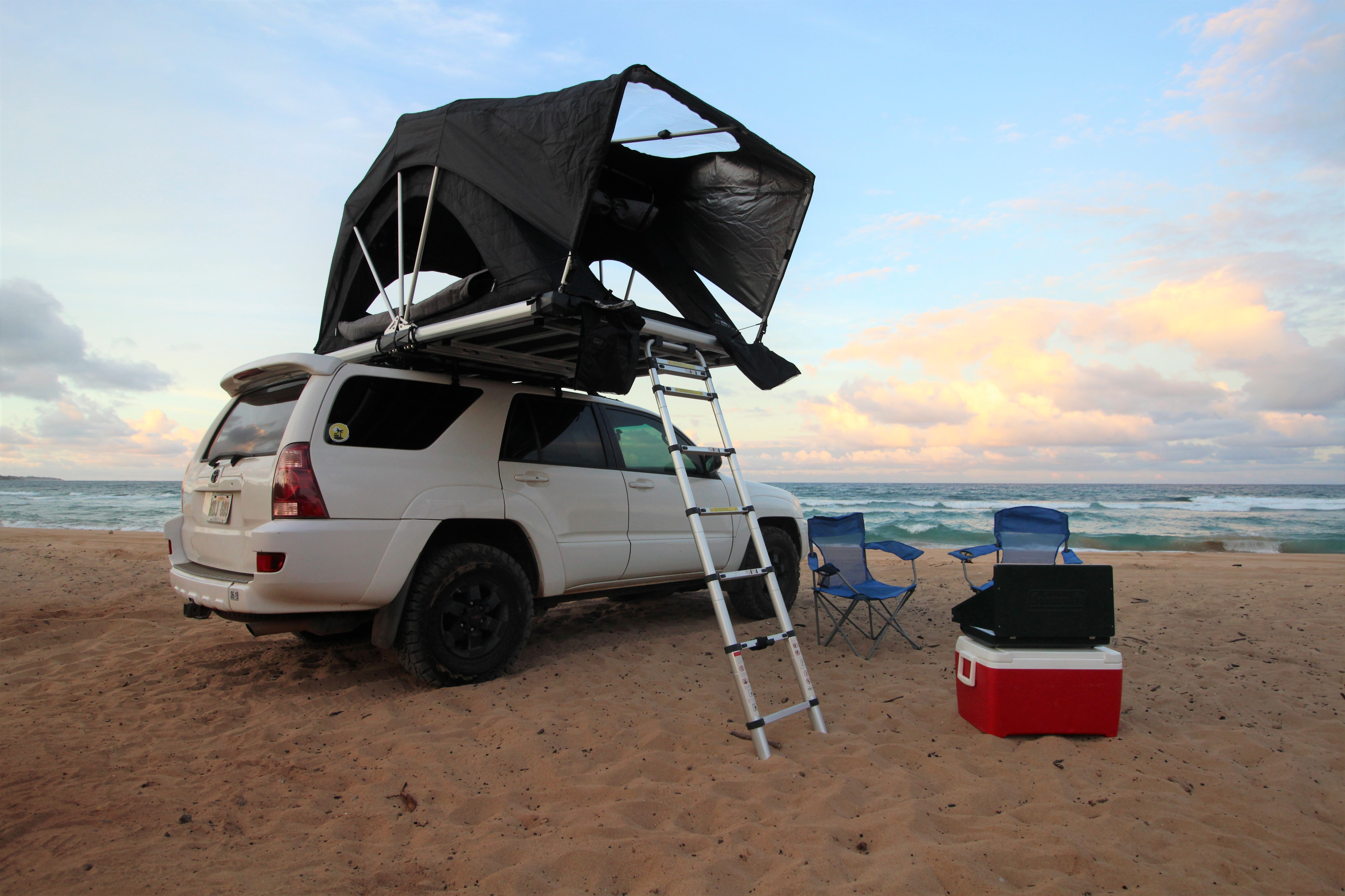 2005 Toyota 4runner 4x4 With Roof Top Tent Truck Camper Rental In Lihue Hi Outdoorsy