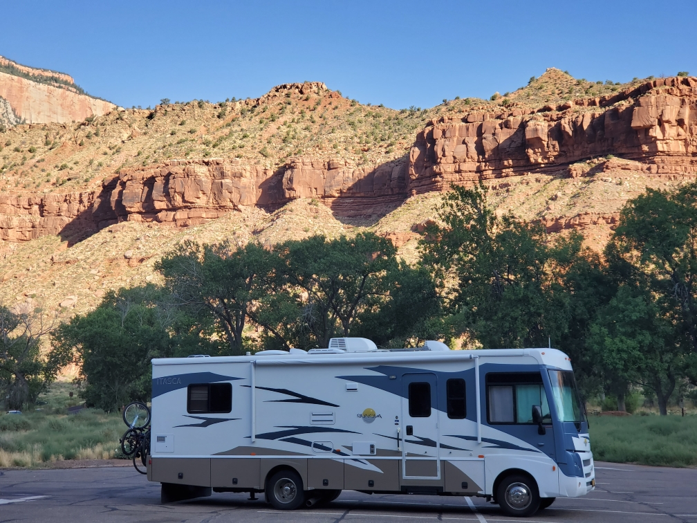 Baby Huey at Zion in UT Jul 2019