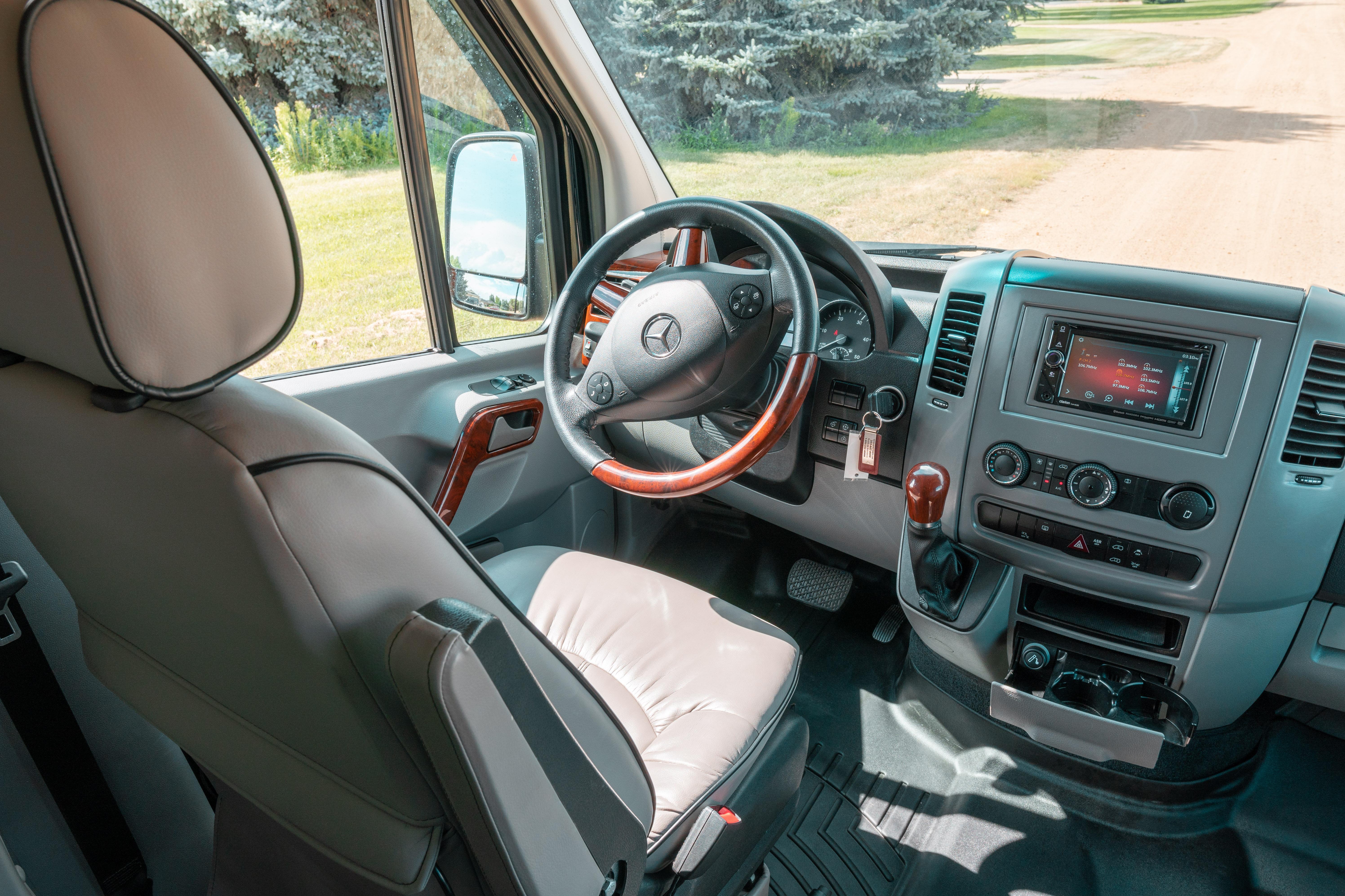 Mercedes Camper Van 2017