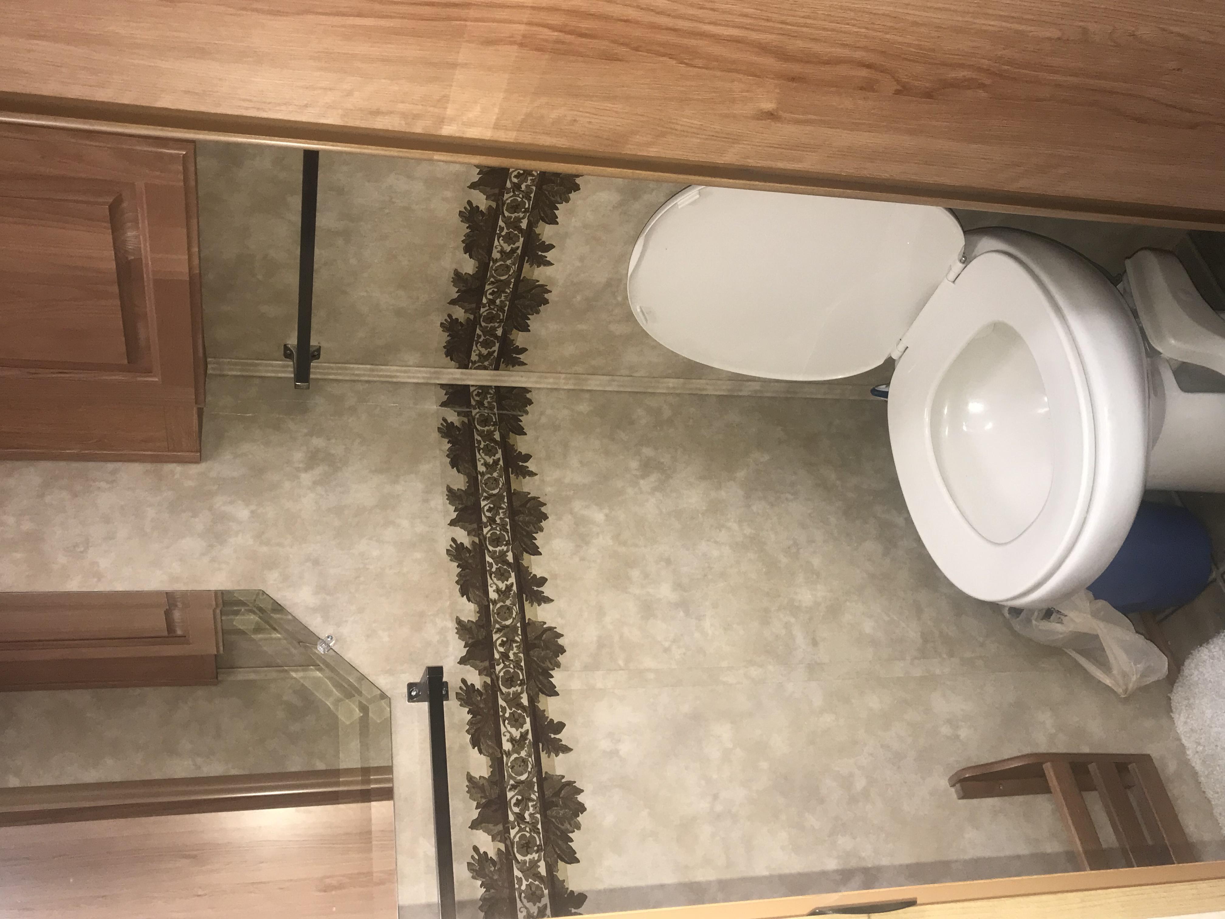 Private toilet room. Jayco Eagle 2008