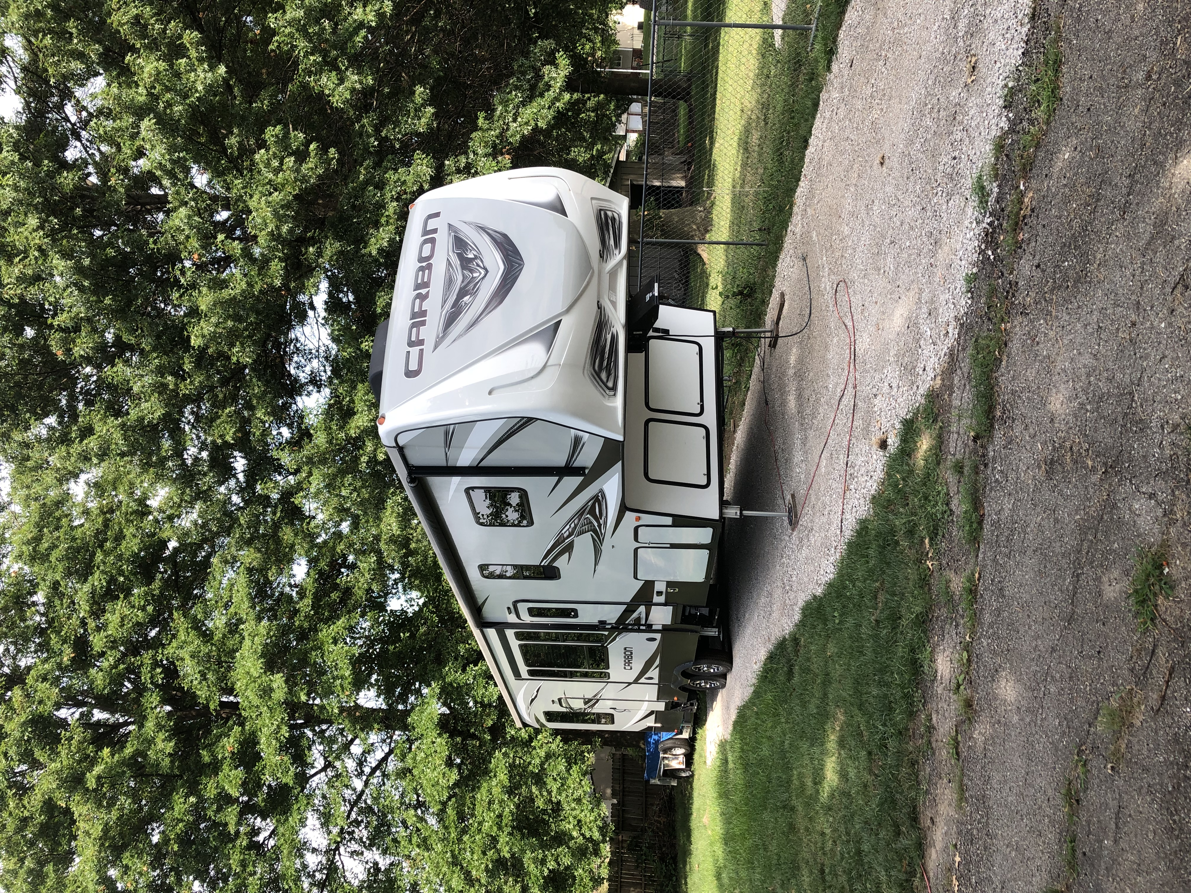 Have an awesome camping experience with this camper. Everything you need and more!!. Keystone Carbon 2017