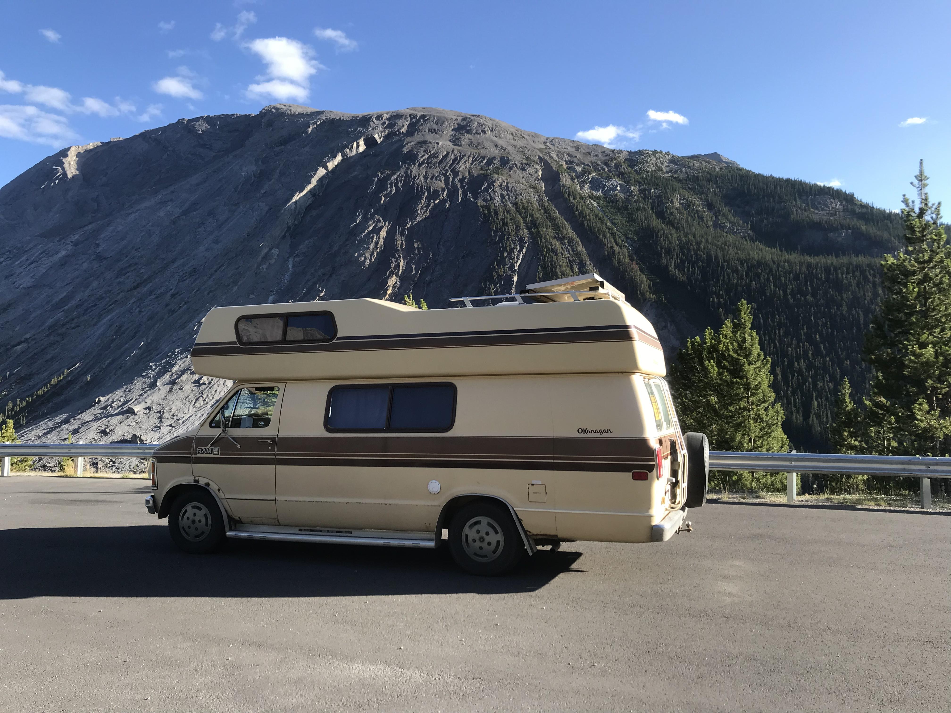 1984 Okanagan B250 Motor Home Camper Van Rental In Calgary Ab Outdoorsy