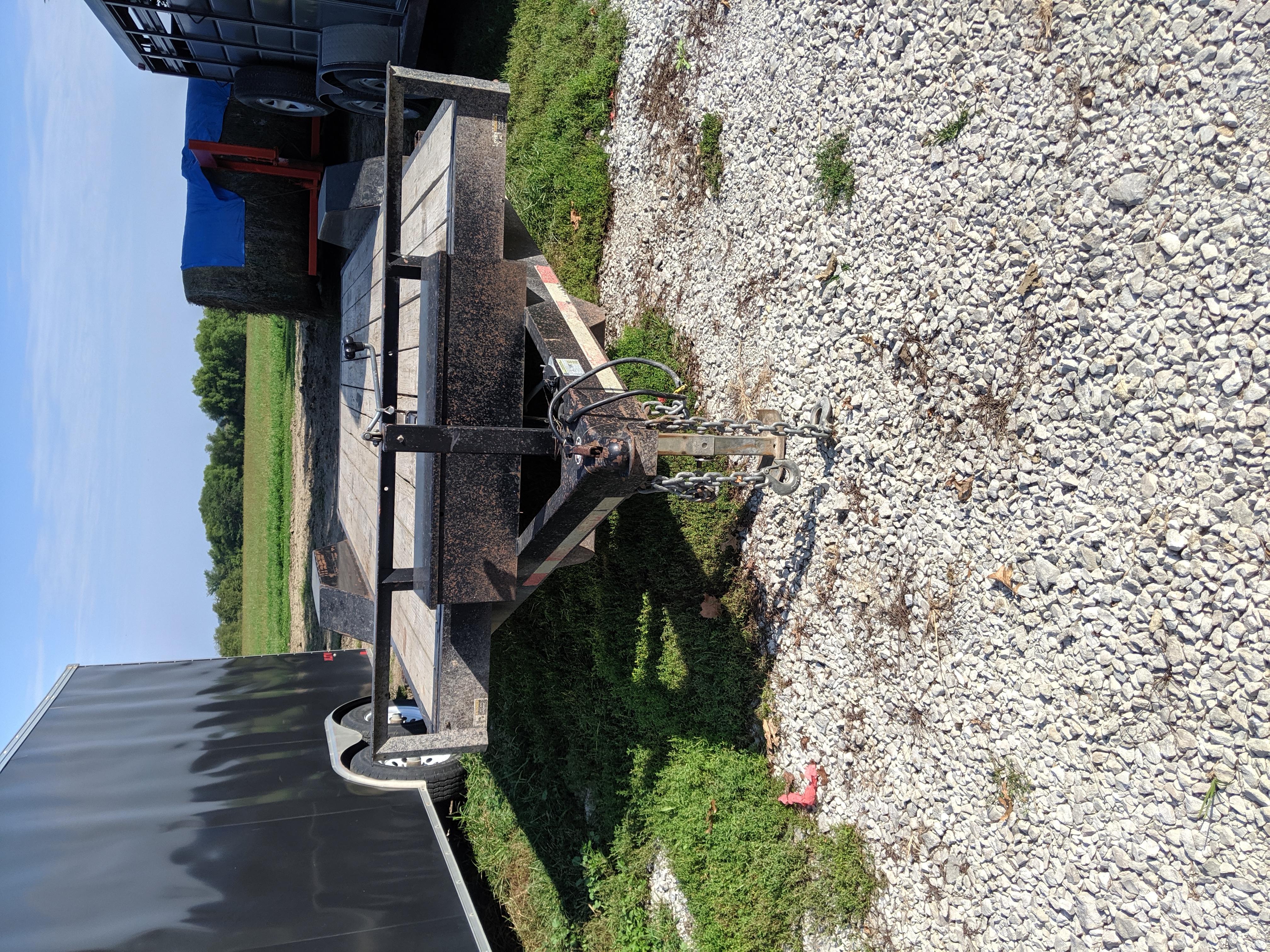 Hull utility trailer Tilt Flatbed 2016