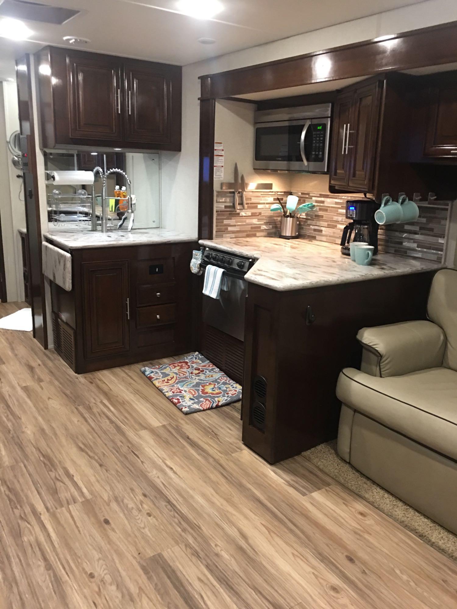Kitchen. Forest River Georgetown 2018