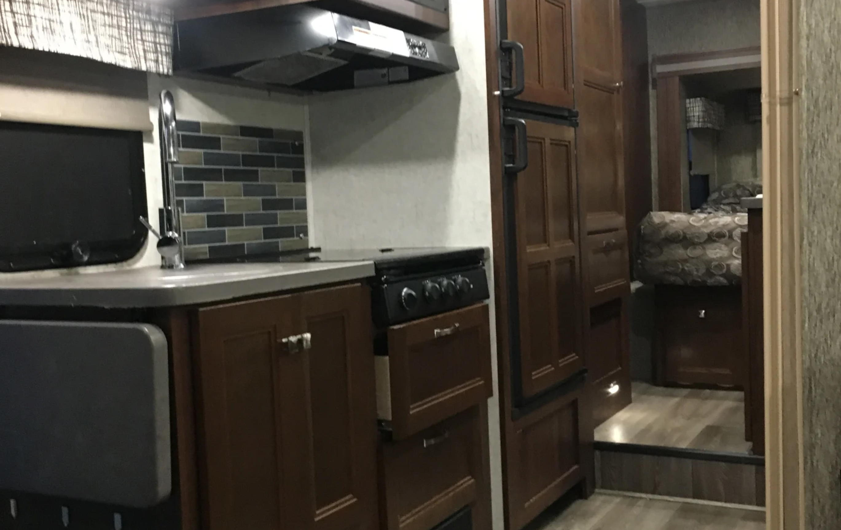 kitchen, and lots of storage. Forest River Sunseeker 2018