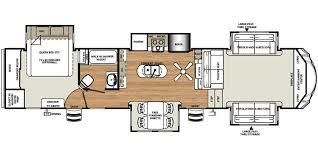 Floor Plan. Forest River Sandpiper 2017