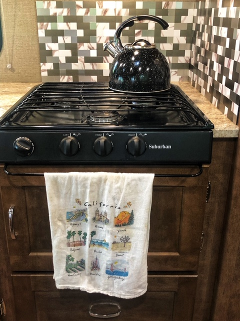 Stove Top. Winnebago Outlook 2019