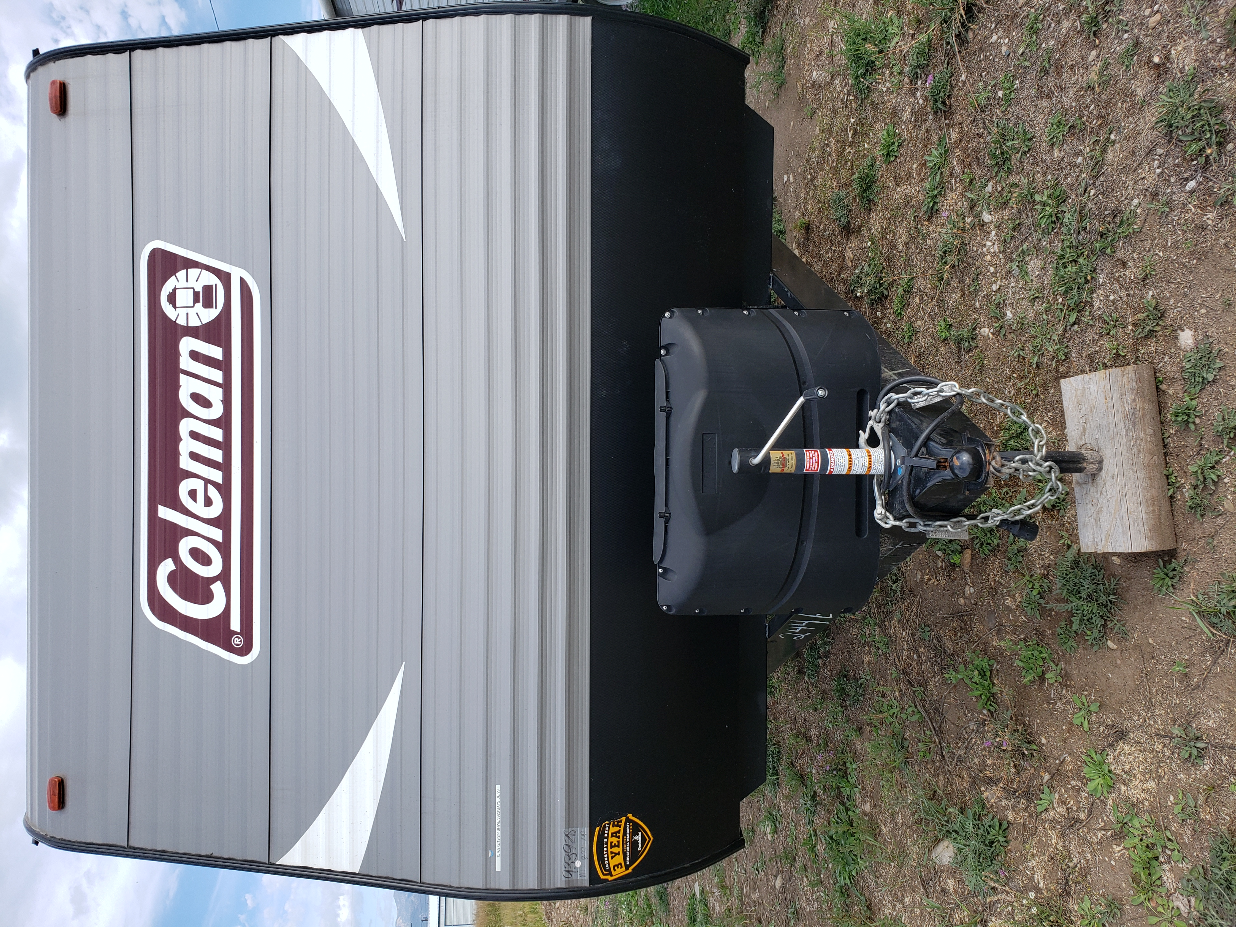 Rv has 2 propane tanks and 2 batteries. (Does NOT come with a generator but can provide one upon request). Coleman Lantern 2019