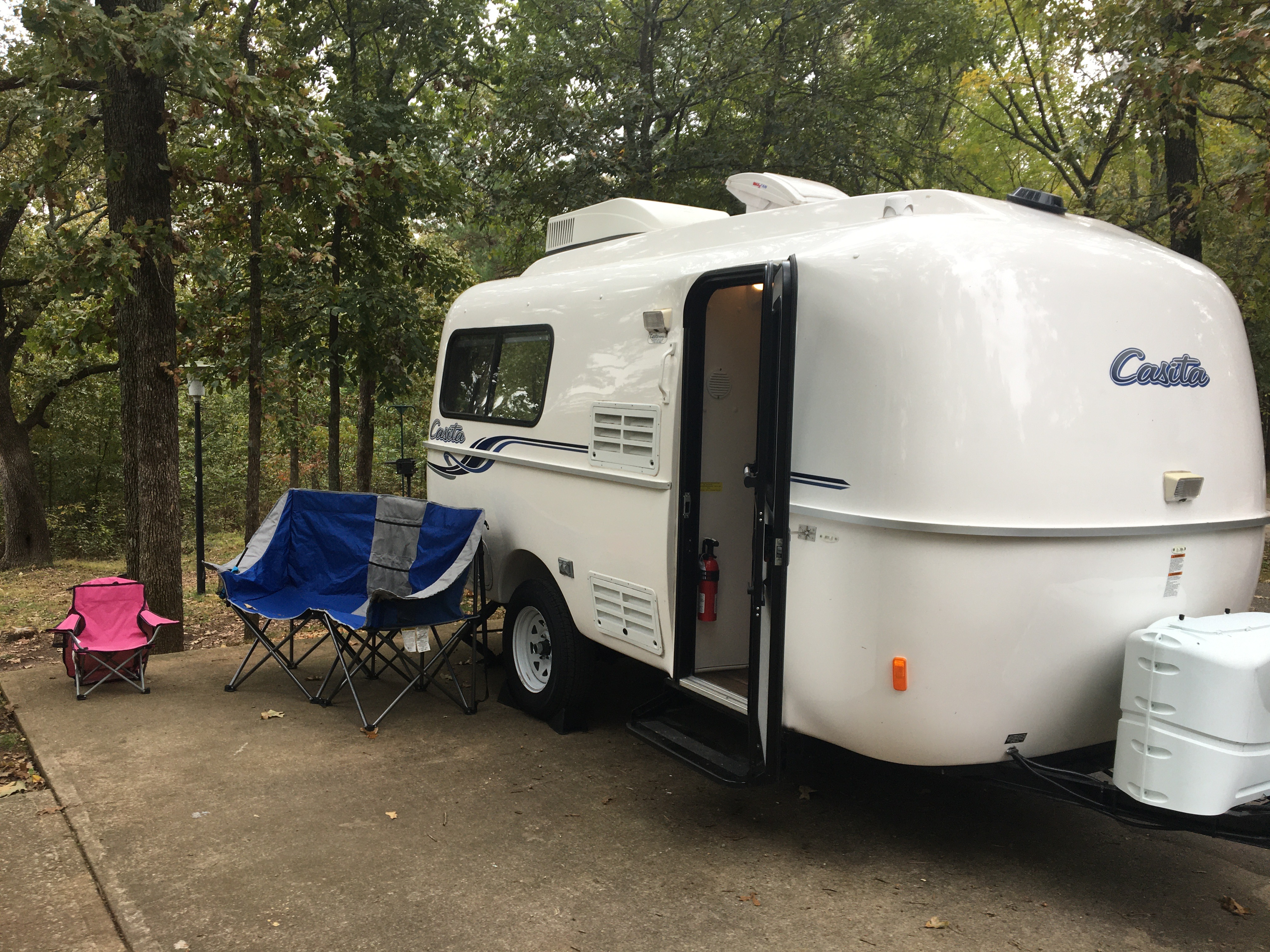 sets up in minutes. Casita 17' Liberty Deluxe 2019