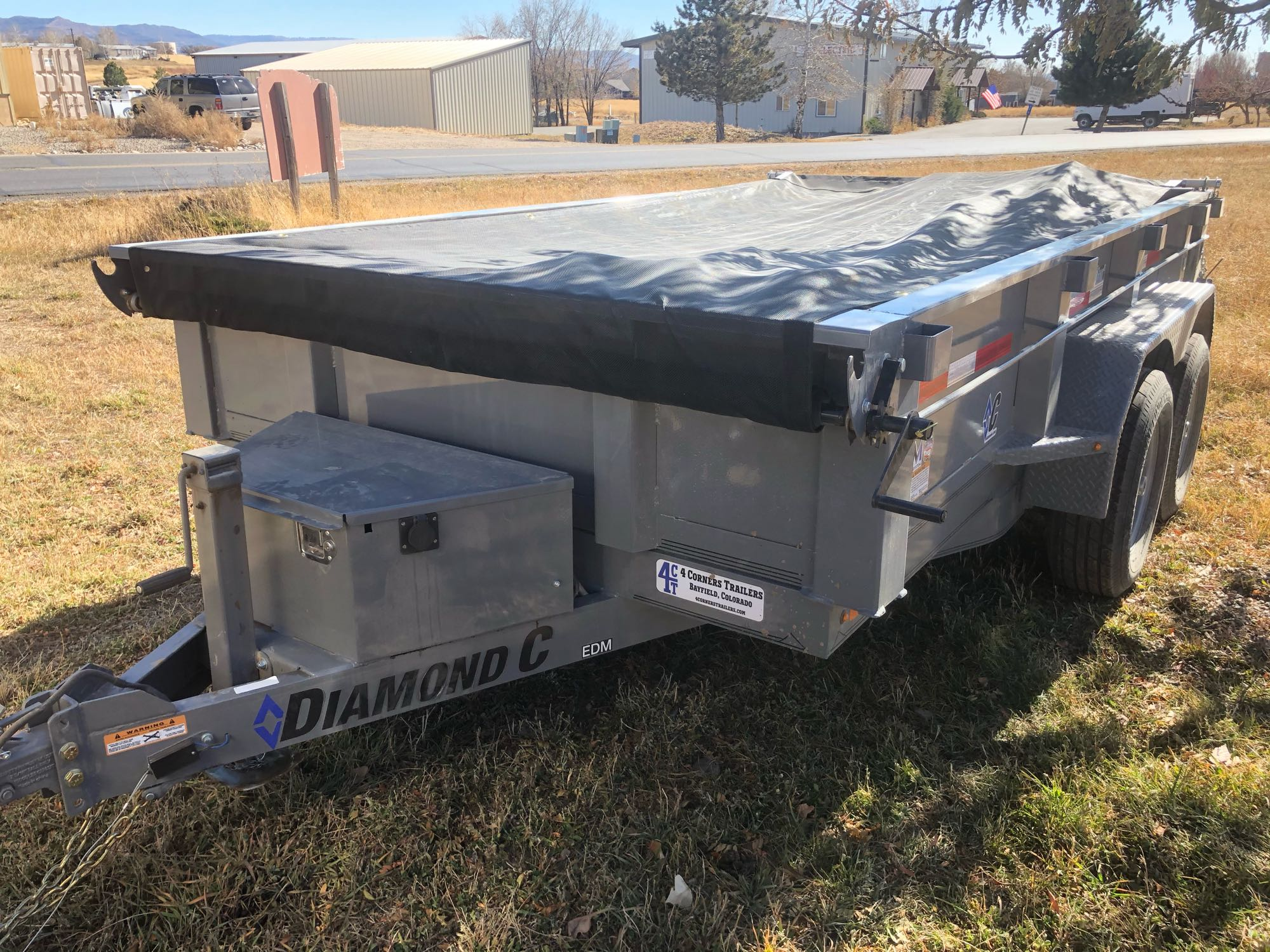 Diamond C dump trailer 2019