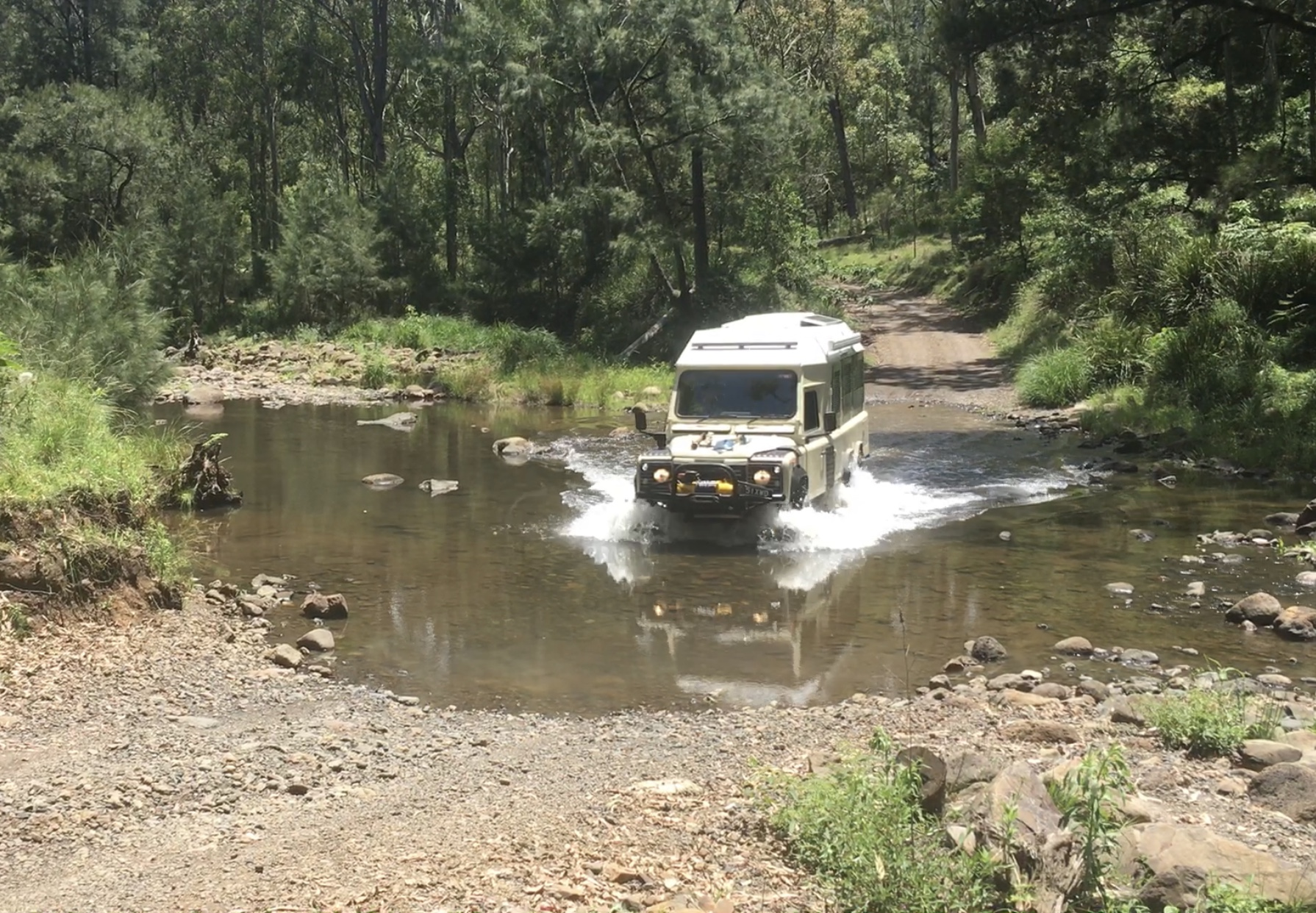 Condamine Gorge '14 Crossings' - part of our recommended 'Boarder Ranges' 3-7 day route.. Custom Other 1990