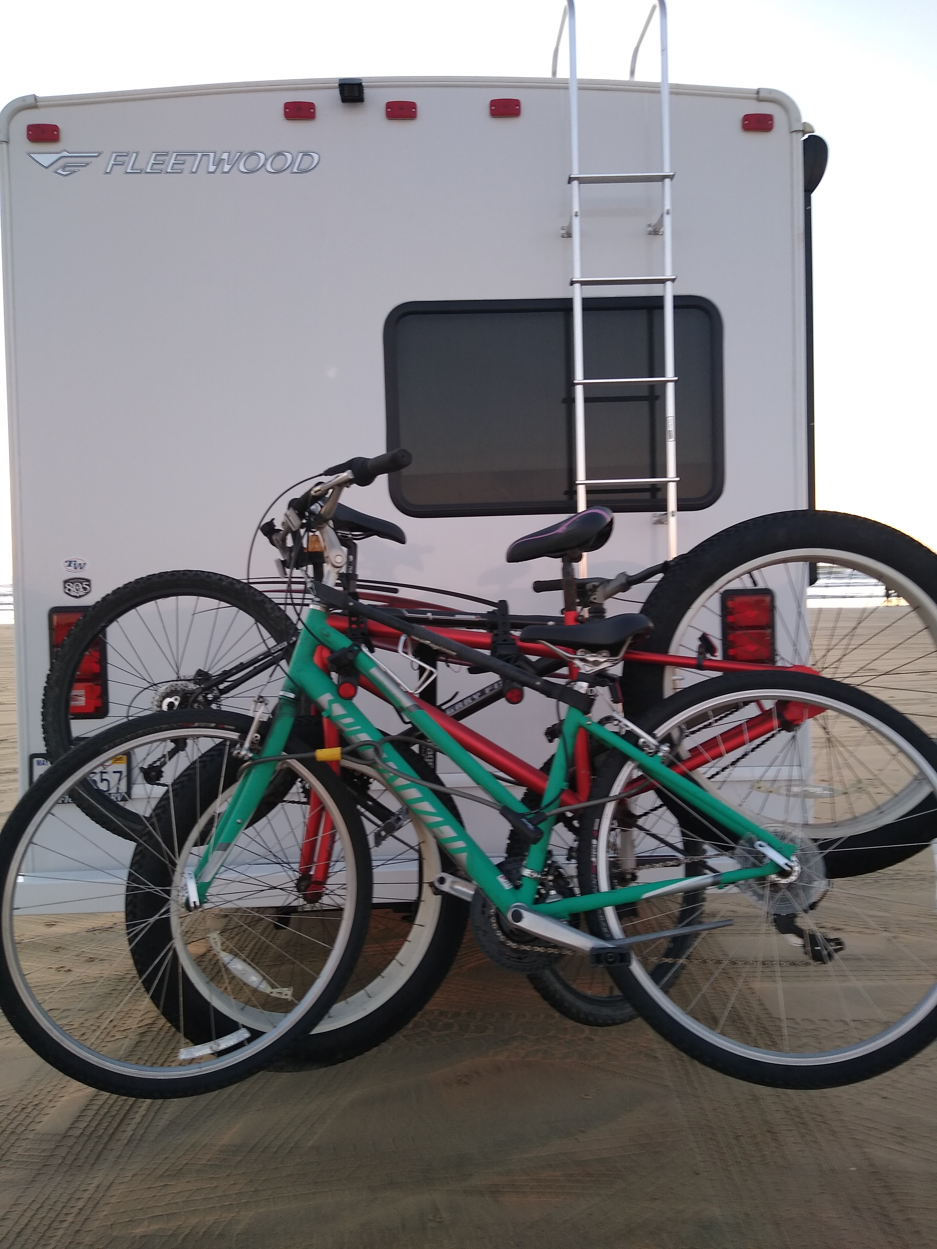 Take your bikes or rent ours. Fleetwood Surge 2018
