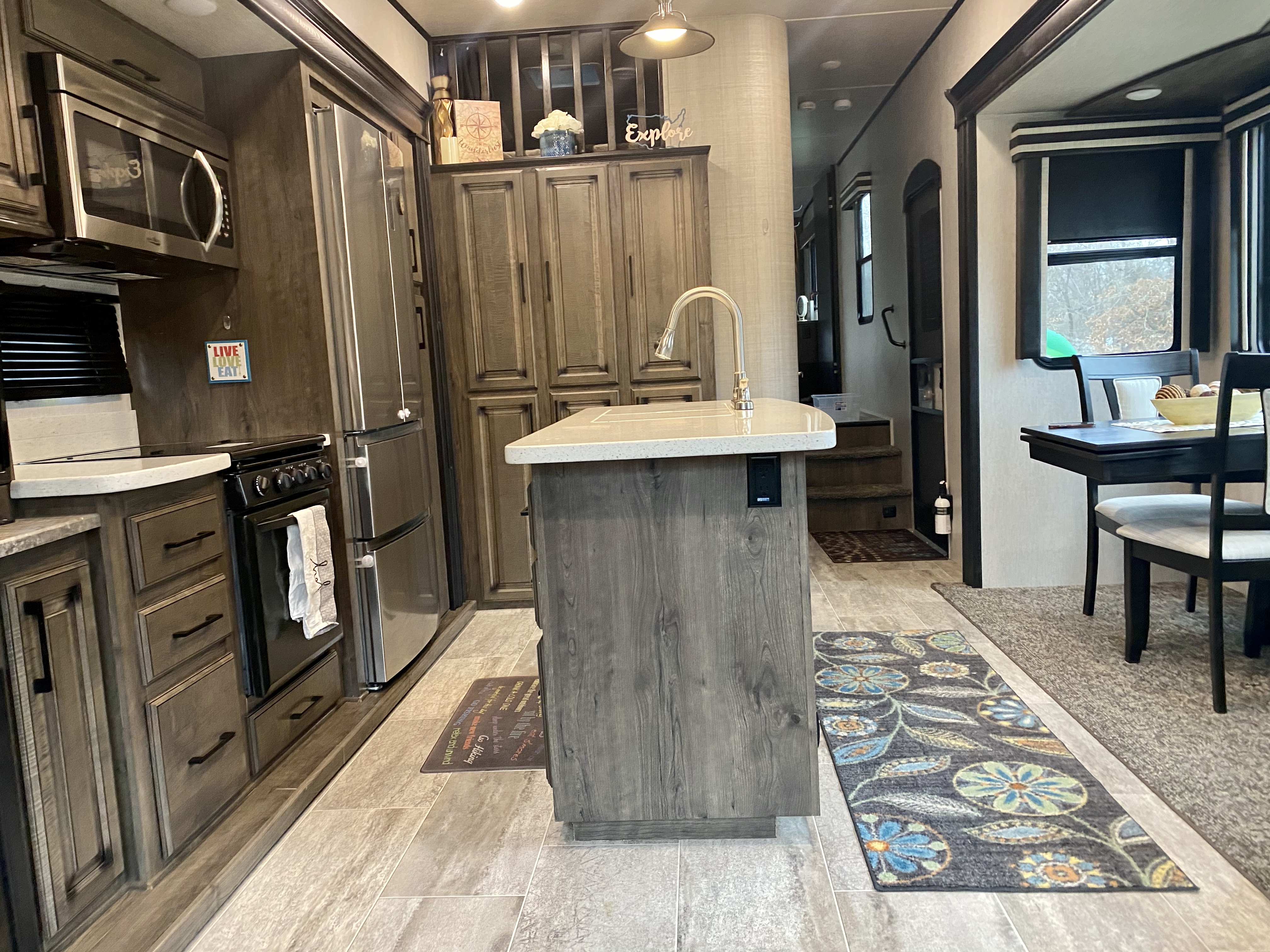 Plenty of storage!. Heartland Gateway 2019