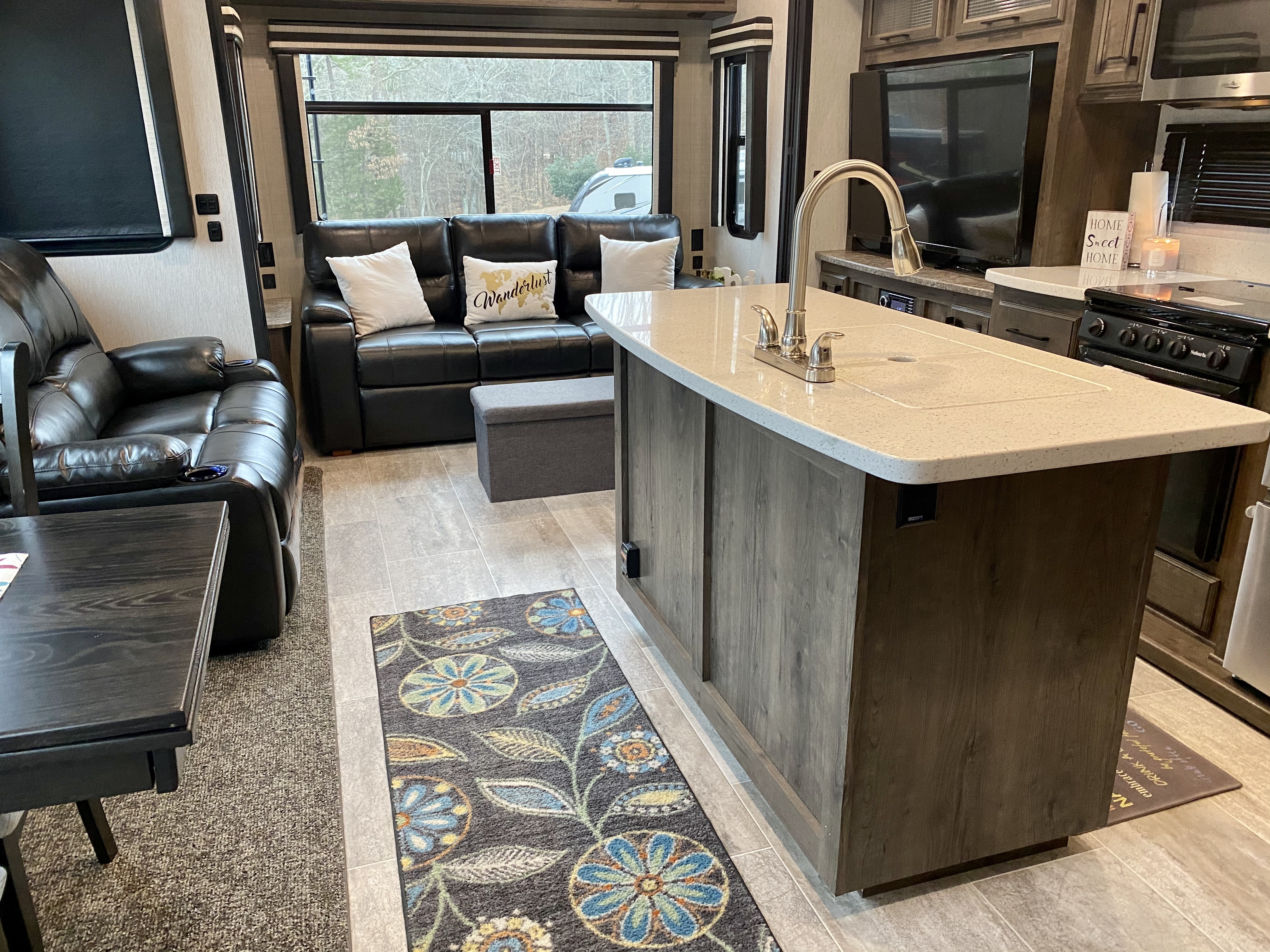 Open concept living room/dining area.. Heartland Gateway 2019