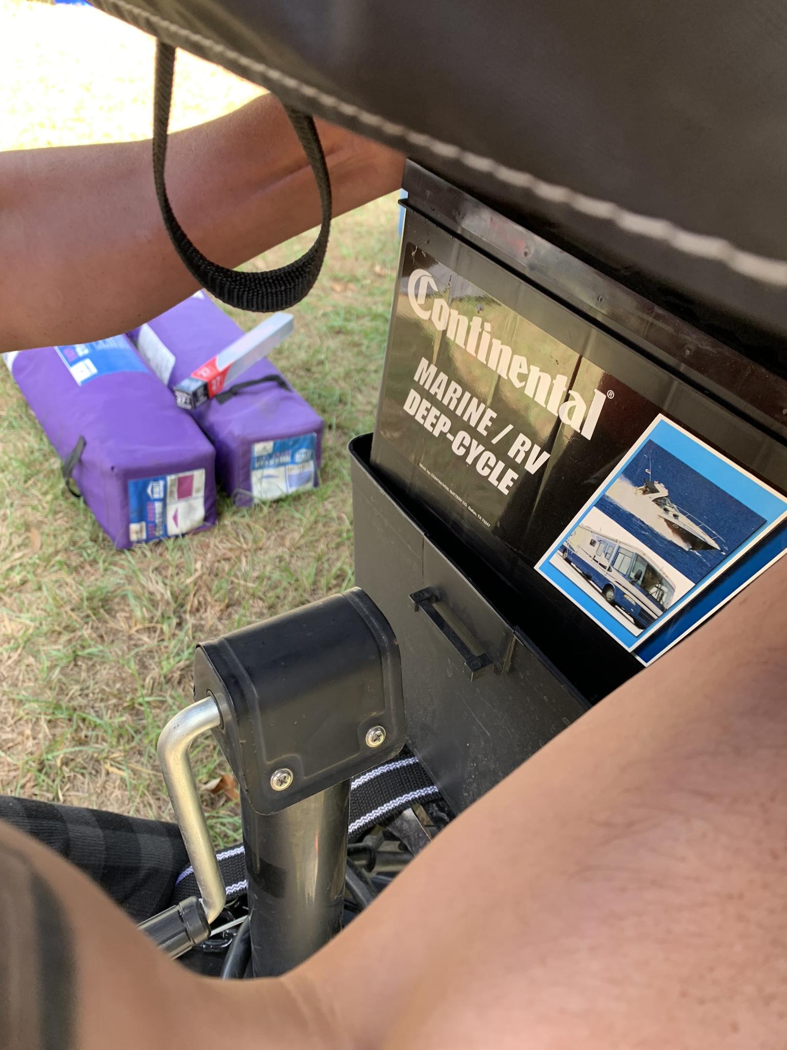 Battery . Viking Epic 2108st 2019