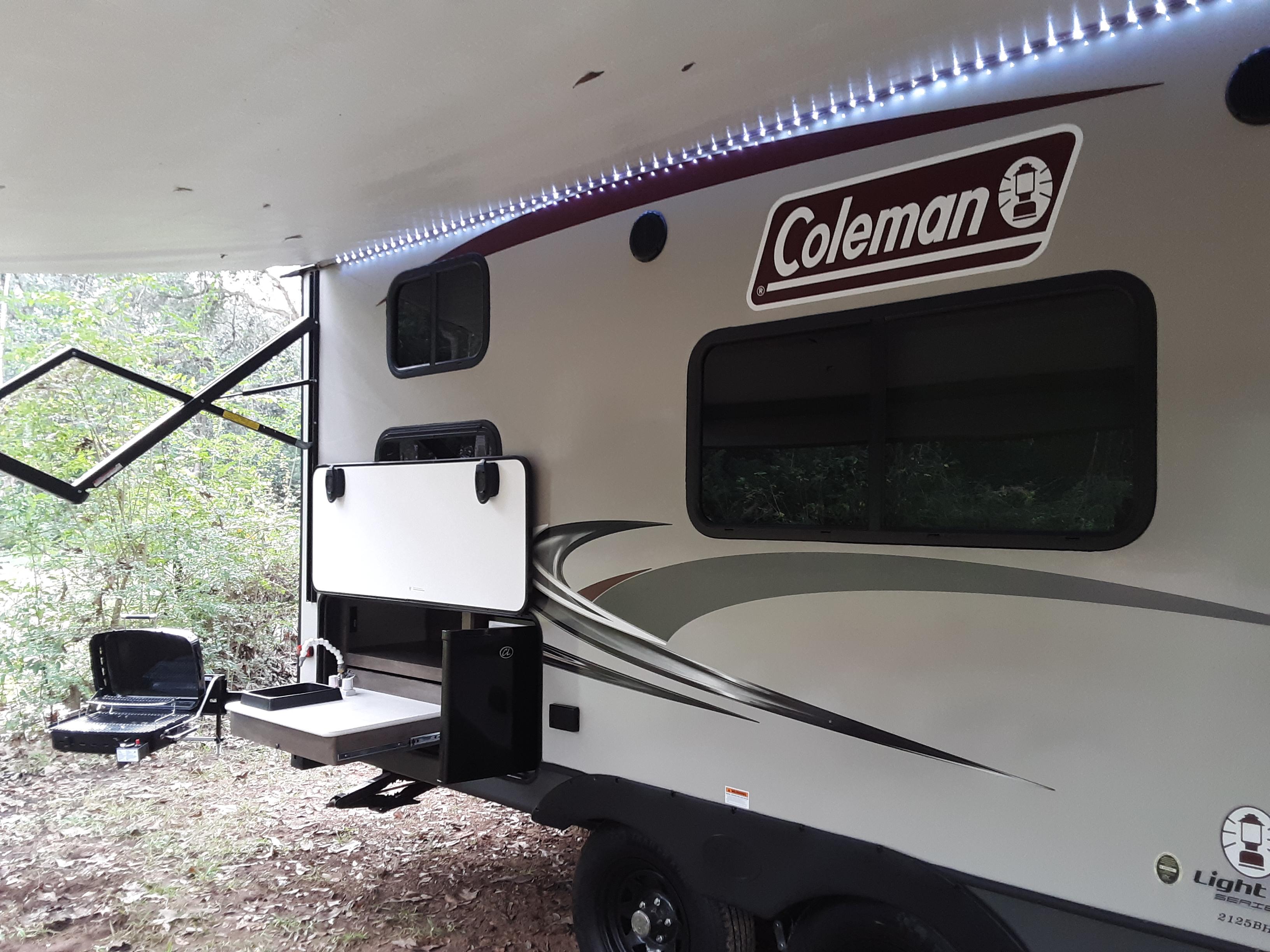 Nice LED canopy!!. Dutchmen Coleman 2019