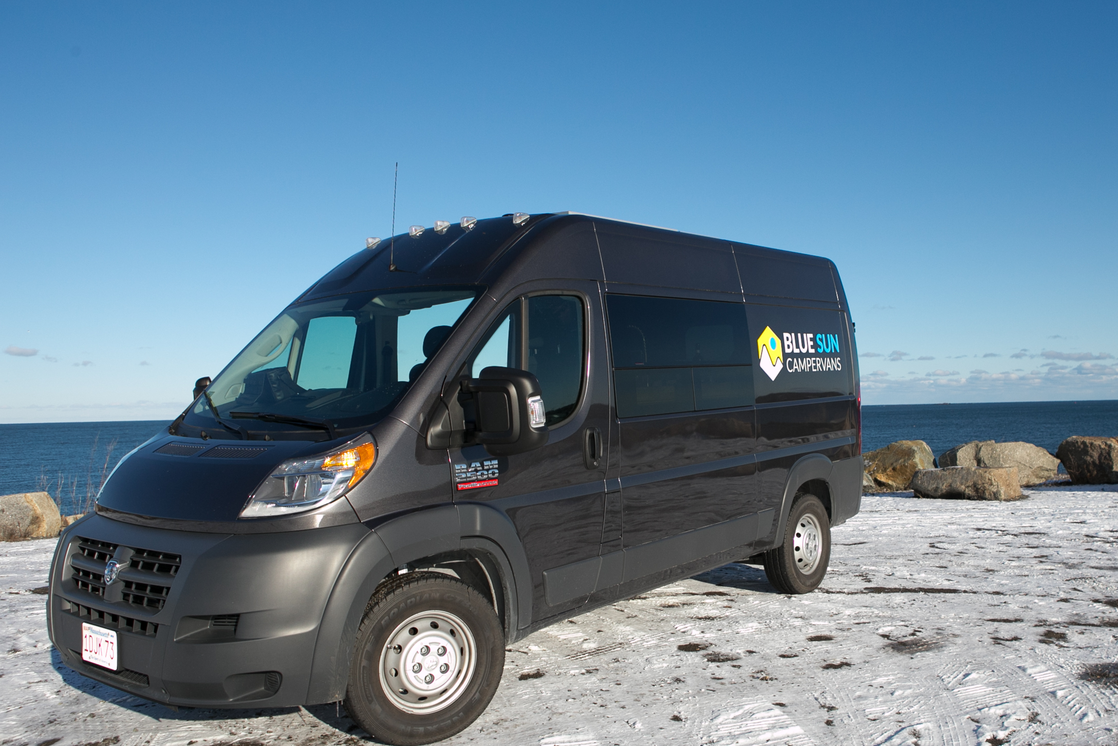 ADVENTURE READY - Easy to handle, easy to drive, easy to park, no RV size restrictions . Dodge Ram ProMaster 2500 2018