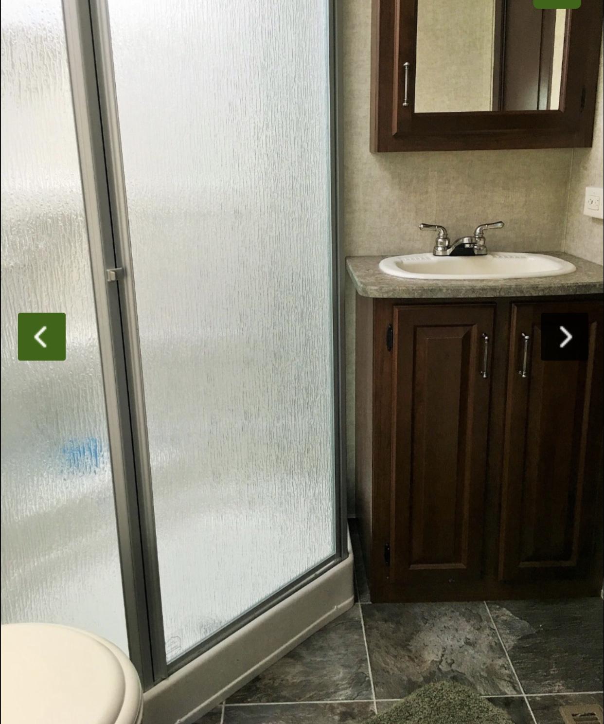 Master bathroom. Keystone Avalanche 2013