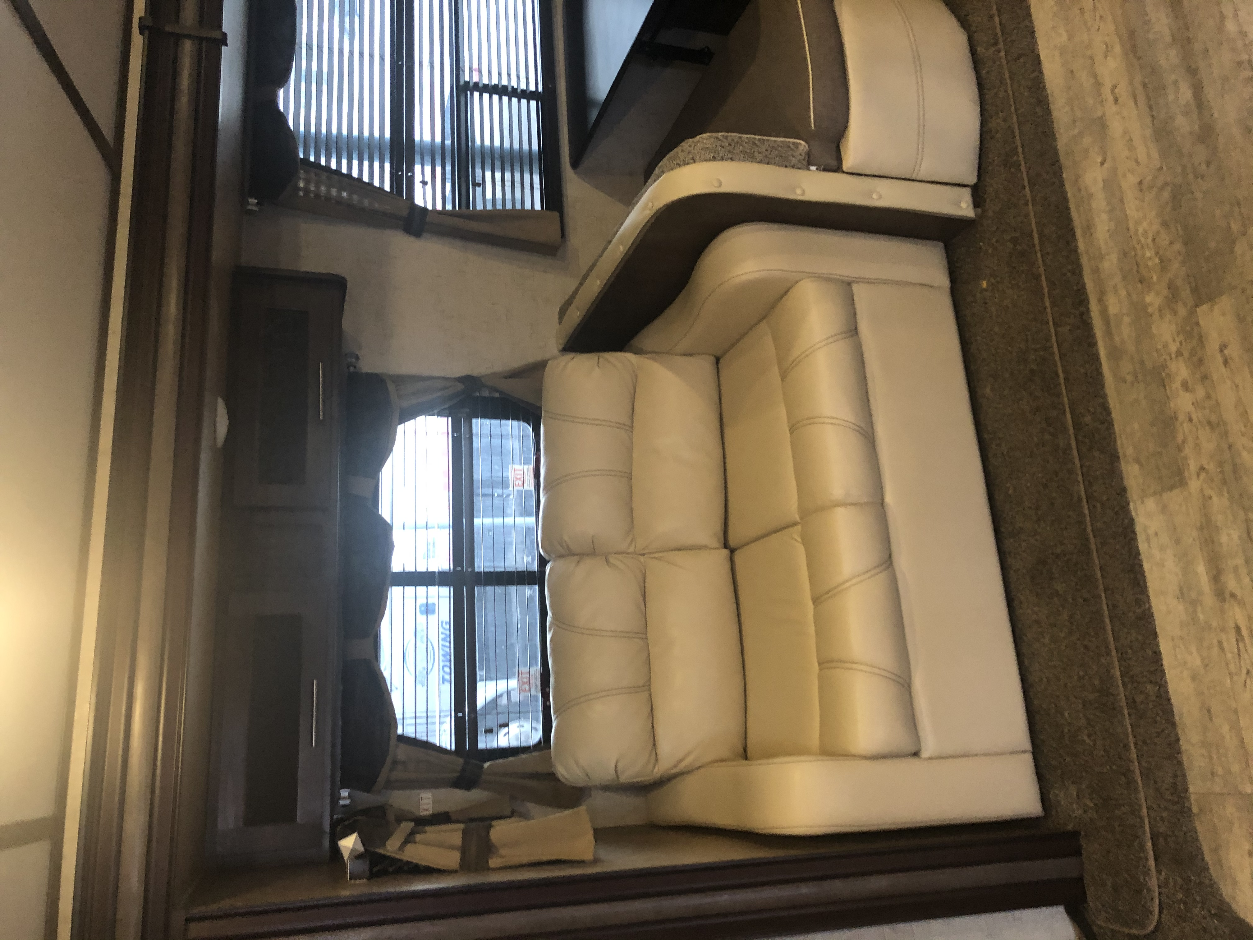 Couch and hidden bed. Full size . ForestRiver Surveyor 2016