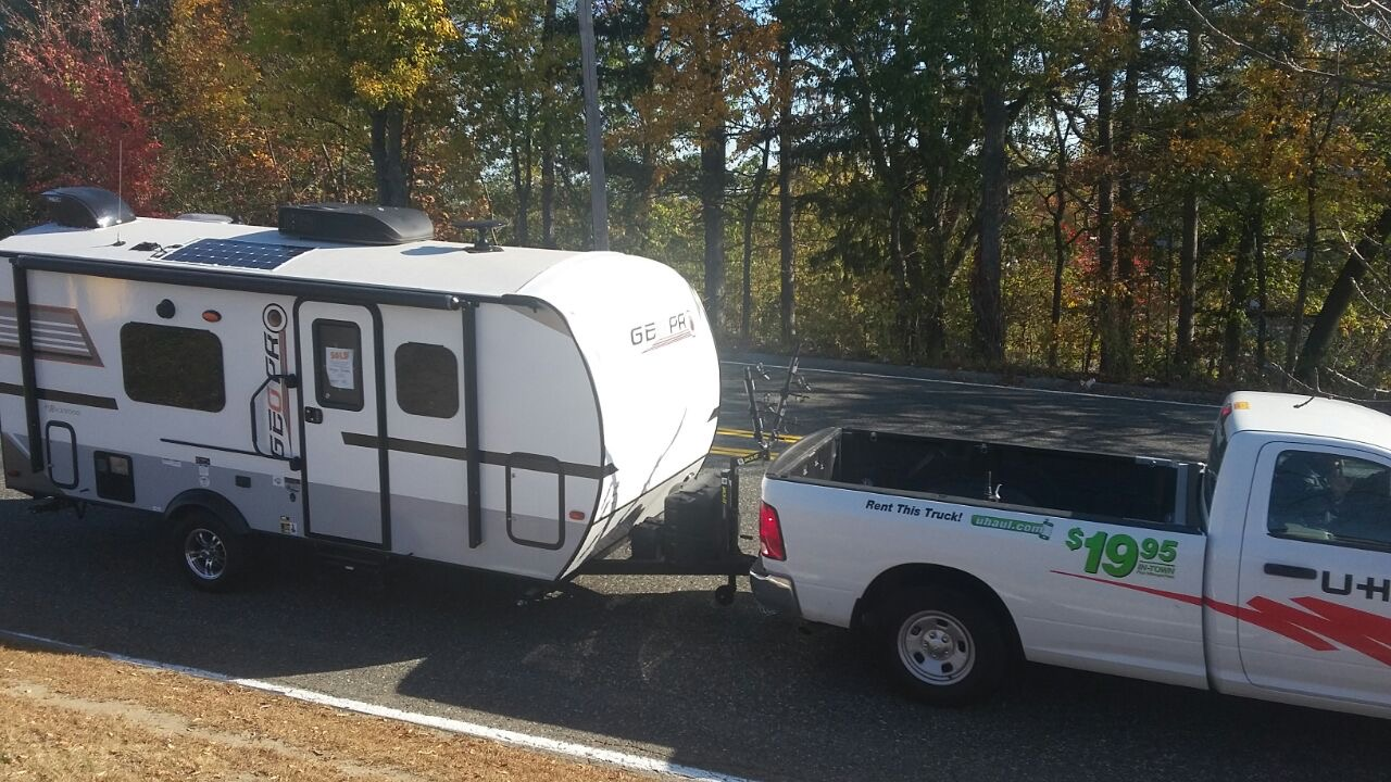 Easy to tow !!. Forest River Rockwood 2018