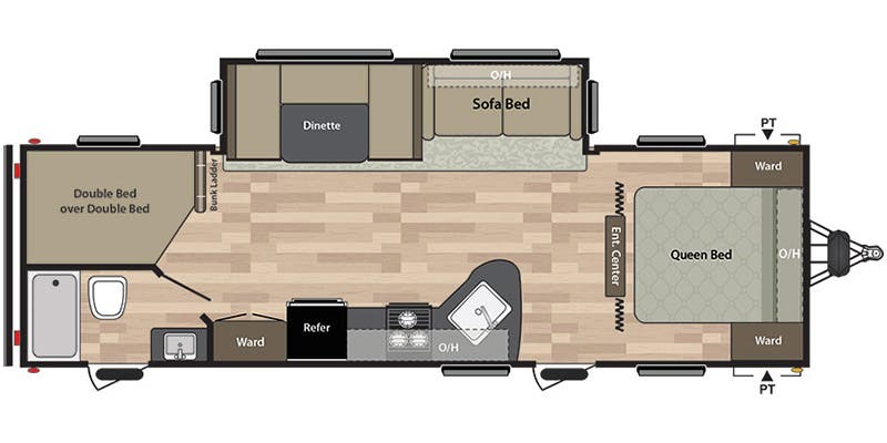 Floor plan. Keystone Summerland 2018